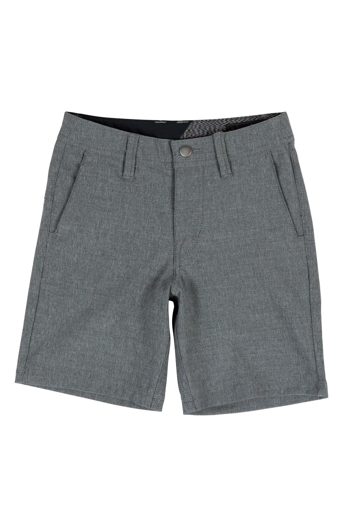 Surf N' Turf Static Hybrid Shorts,                             Main thumbnail 1, color,                             001