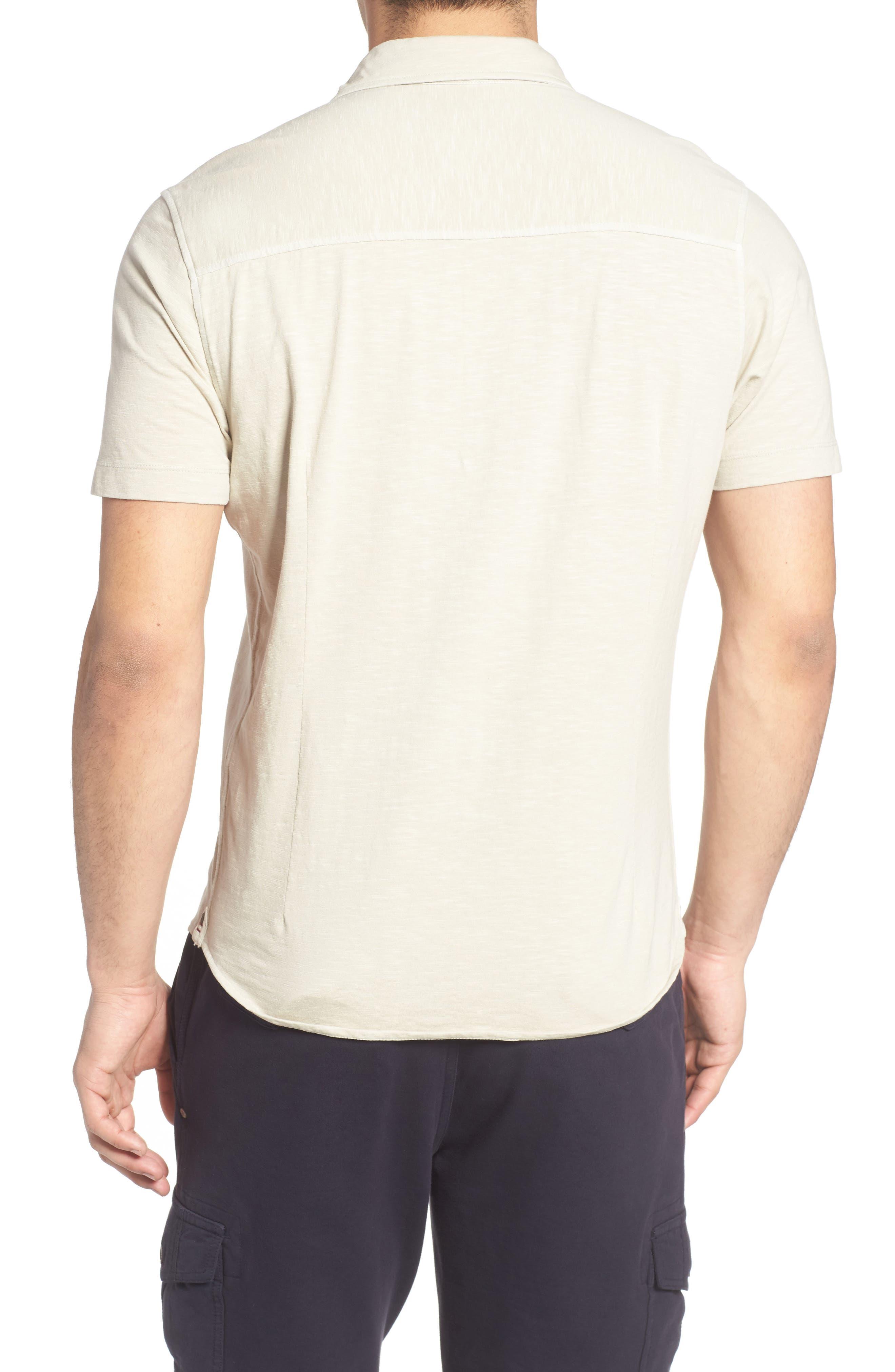 McAdams Slub Jersey Sport Shirt,                             Alternate thumbnail 5, color,