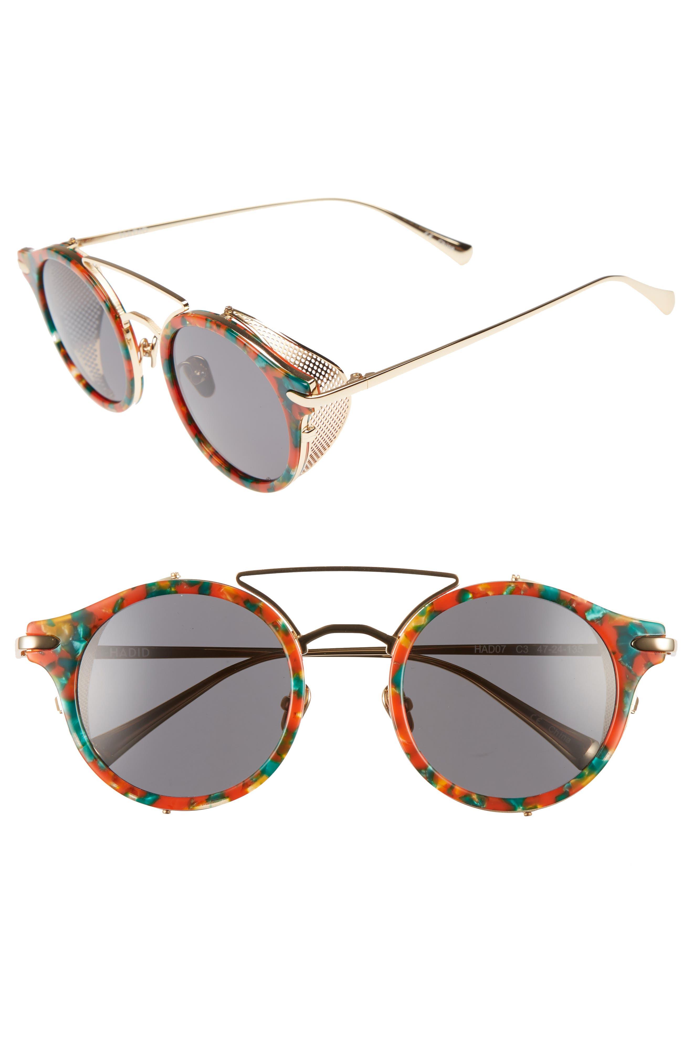 Mile High 47mm Sunglasses,                             Main thumbnail 3, color,