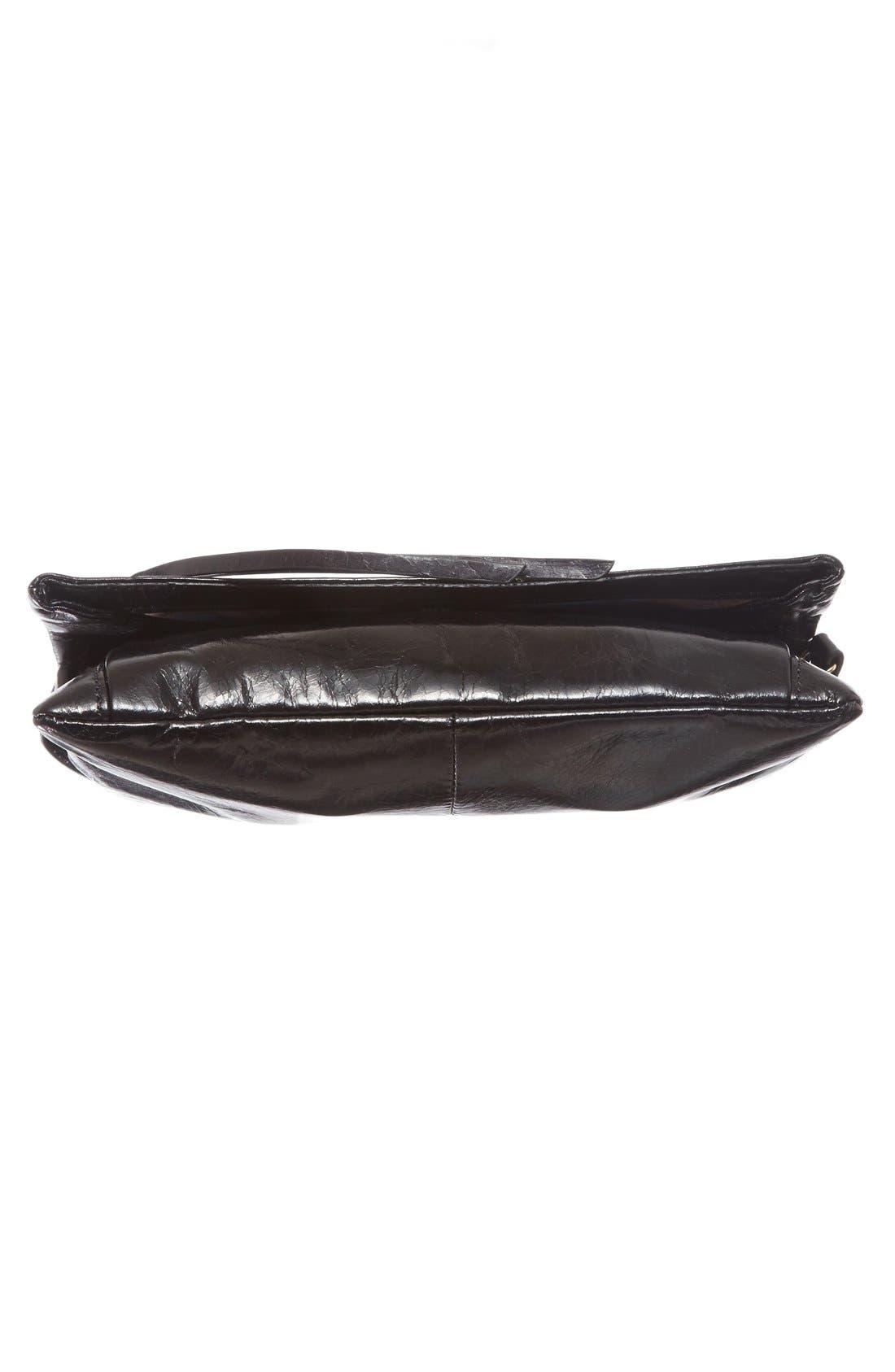 Rudy Leather Crossbody Bag,                             Alternate thumbnail 11, color,                             001