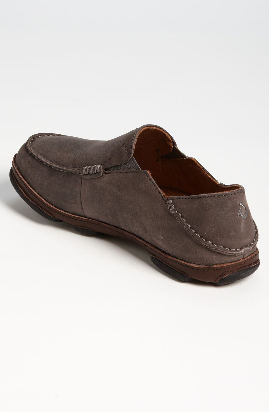 Moloa Slip-On,                             Alternate thumbnail 2, color,                             STORM GREY/ DARK WOOD