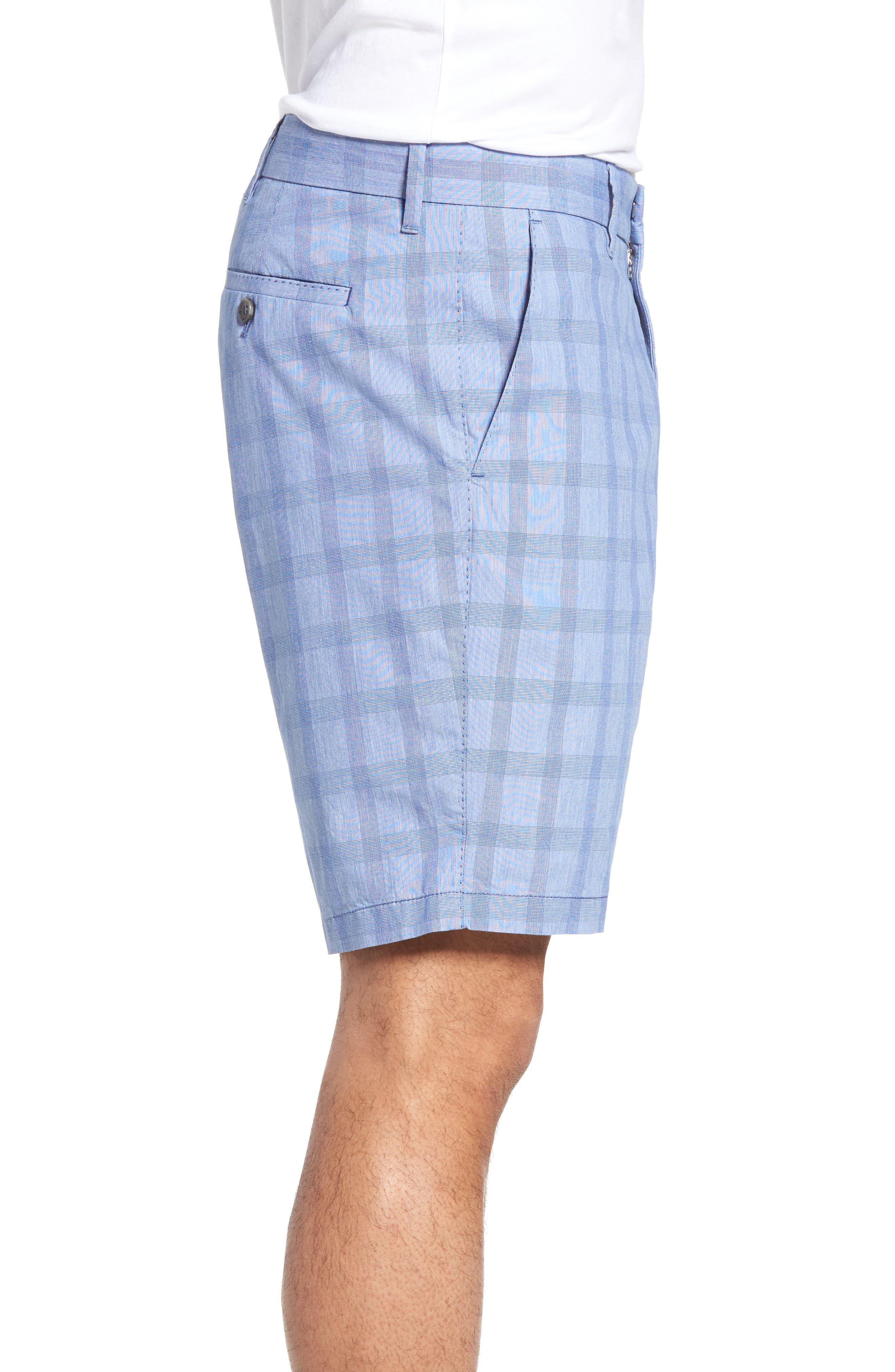 Antrorse Plaid Shorts,                             Alternate thumbnail 3, color,                             400