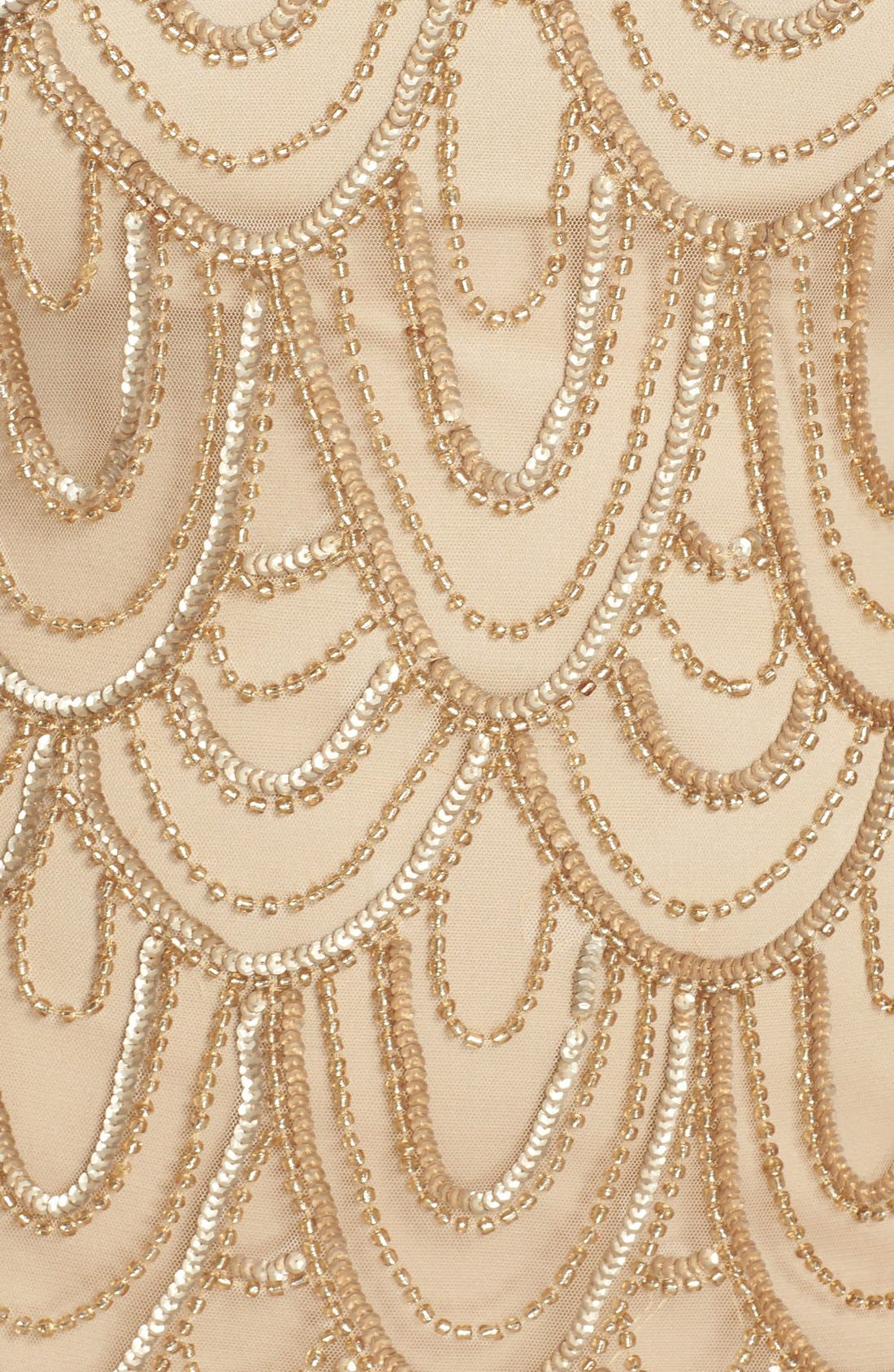 Beaded Sheath Dress,                             Alternate thumbnail 63, color,