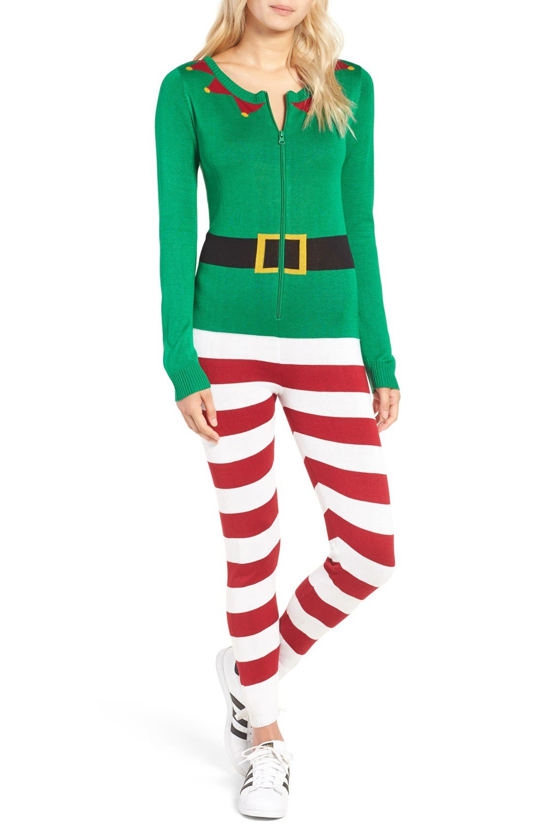 LOVE BY DESIGN,                             Christmas One-Piece Pajamas,                             Main thumbnail 1, color,                             314