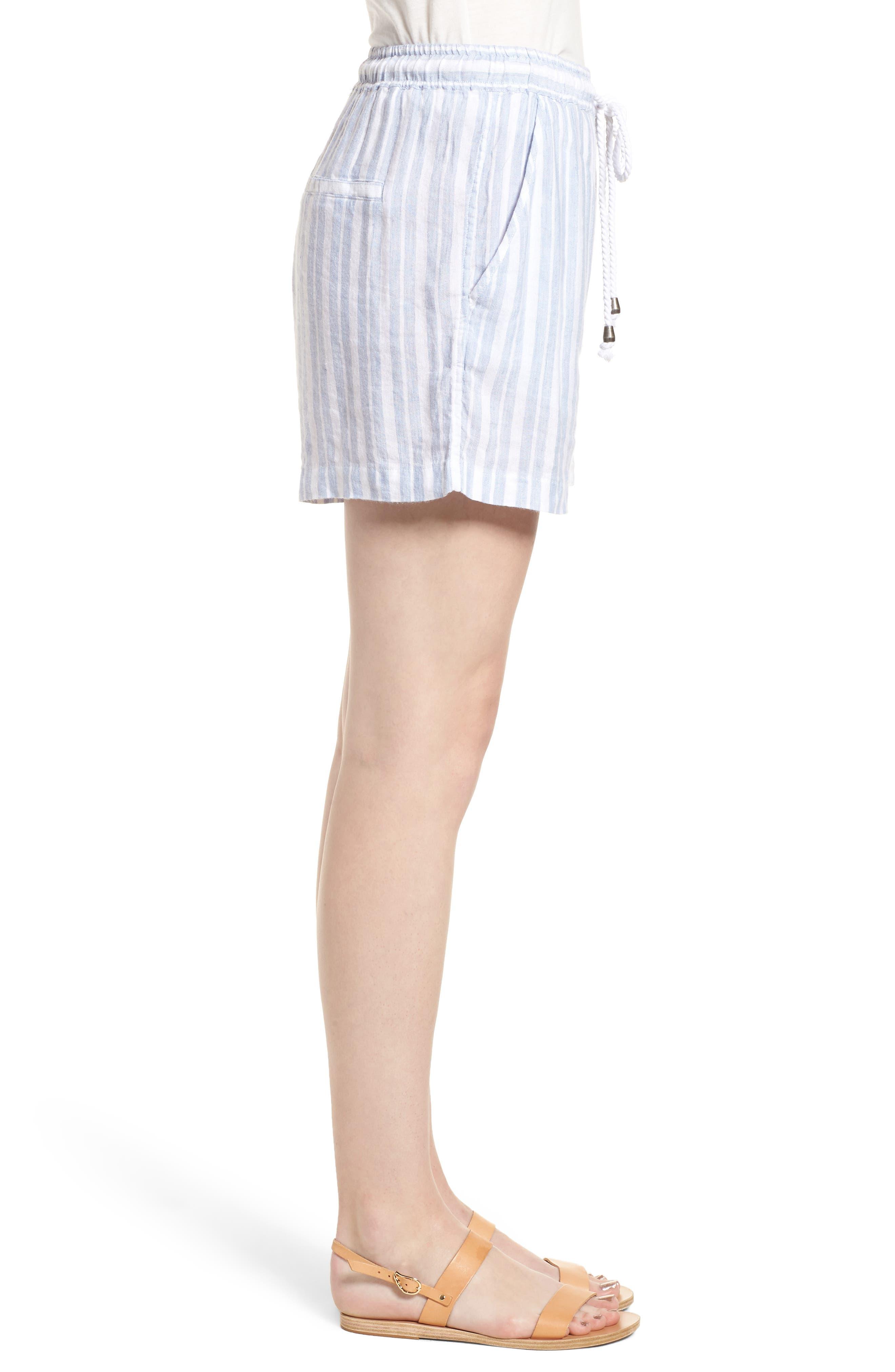 Brea Shorts,                             Alternate thumbnail 3, color,                             HOLLAND STRIPE