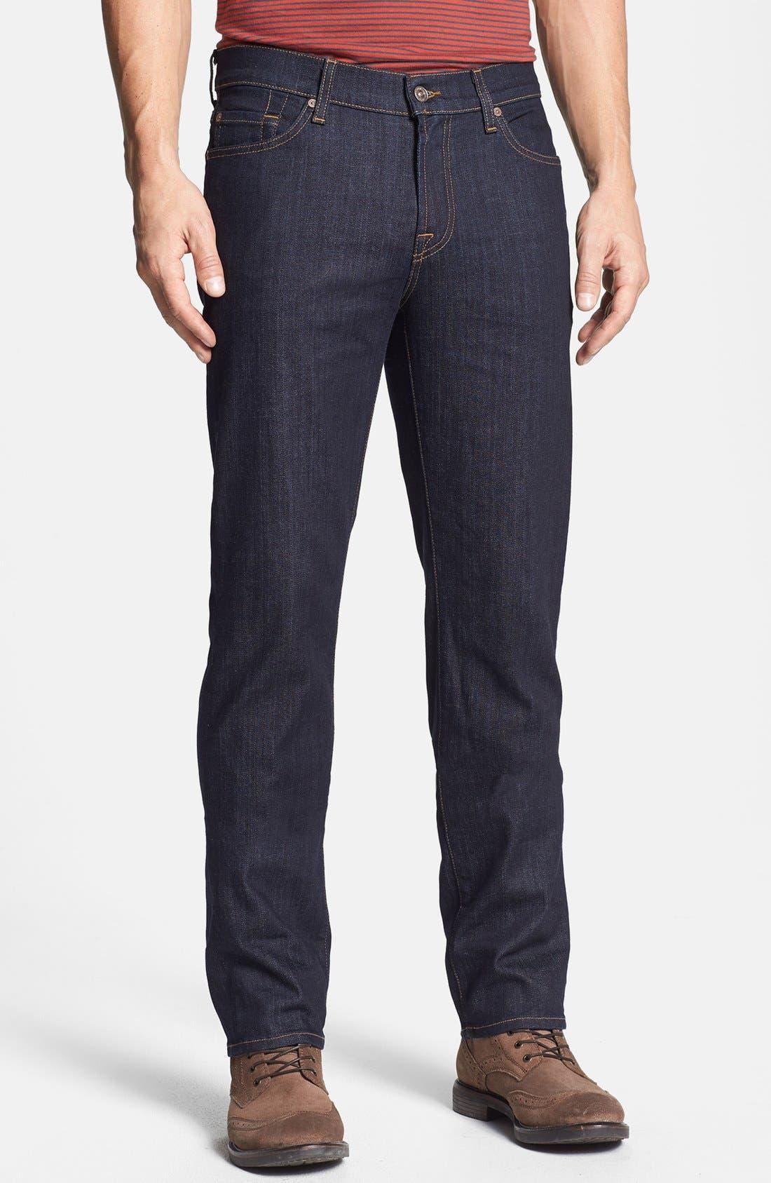 'Slimmy' Slim Fit Jeans,                         Main,                         color, DARK & CLEAN