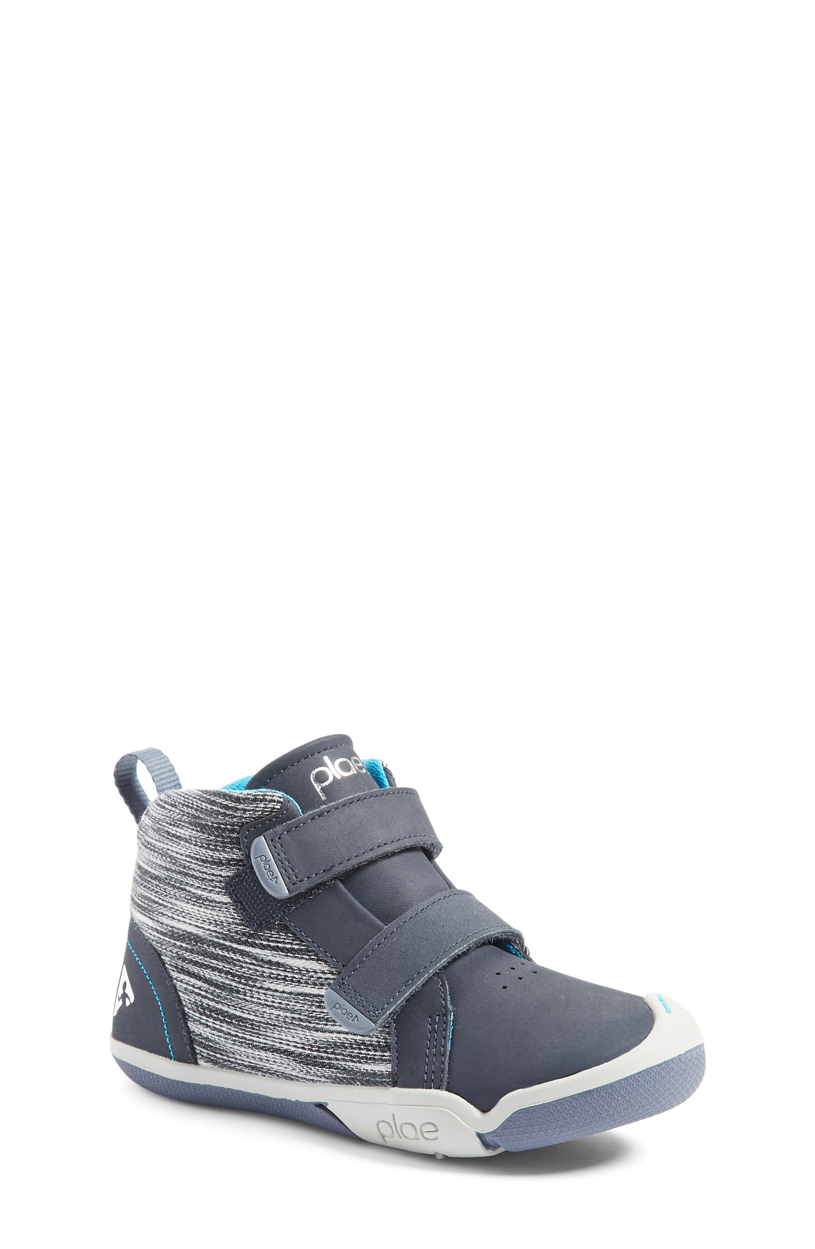 Max Customizable High Top Sneaker,                             Alternate thumbnail 4, color,                             LEATHER WIND