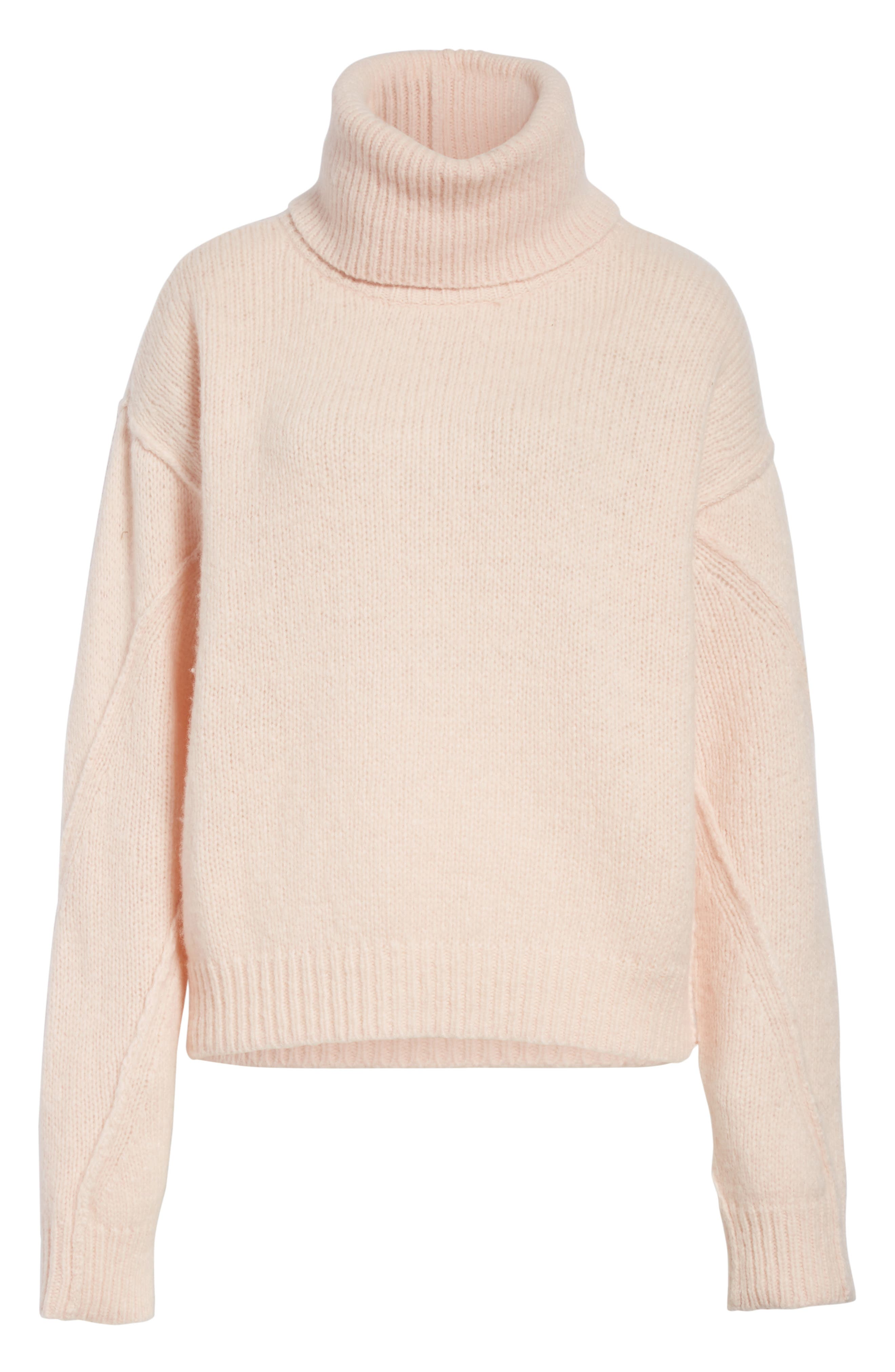 Eva Sweater with Removable Turtleneck,                             Alternate thumbnail 6, color,                             650