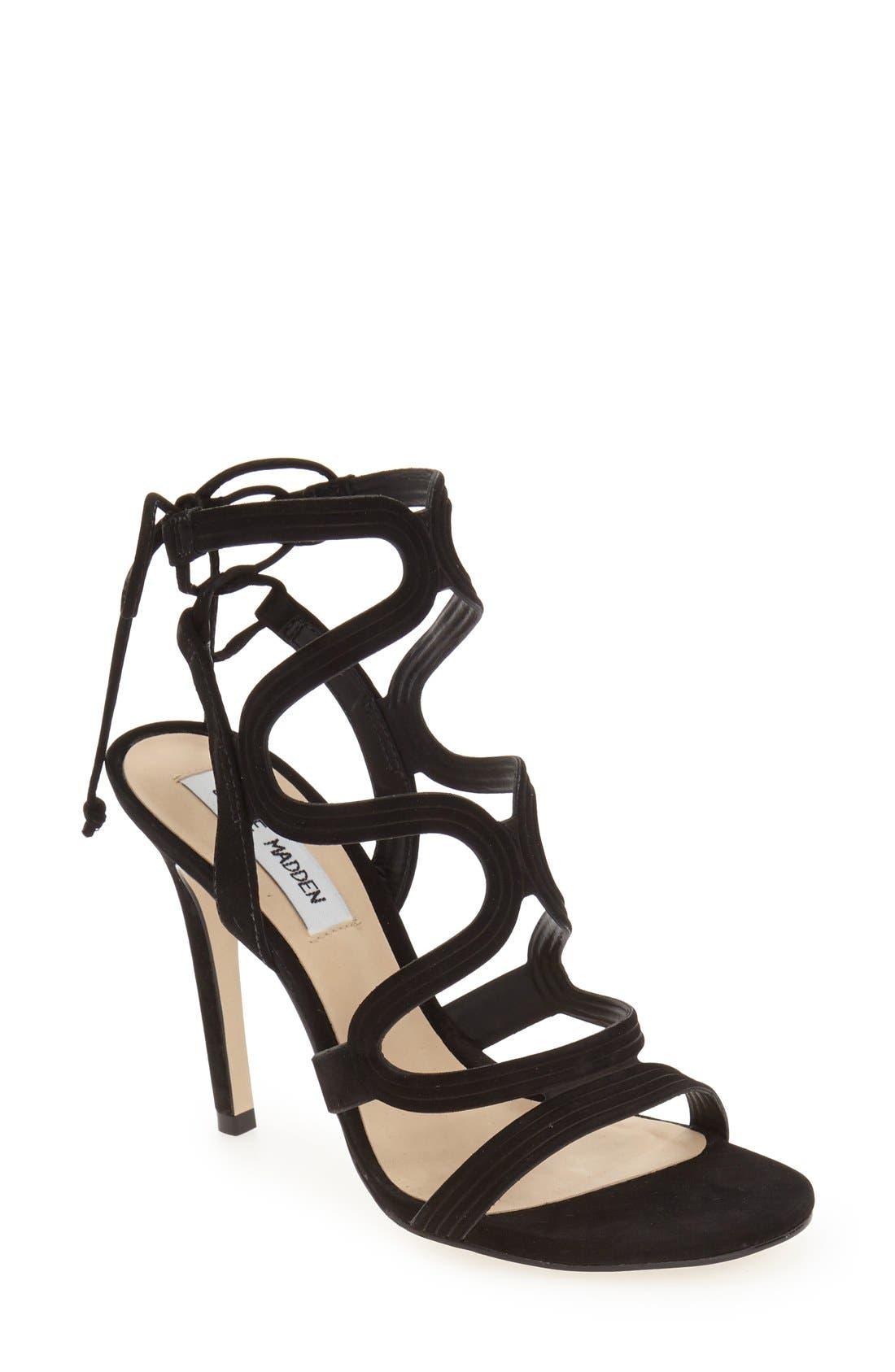 STEVE MADDEN 'Ava' Sandal, Main, color, 005