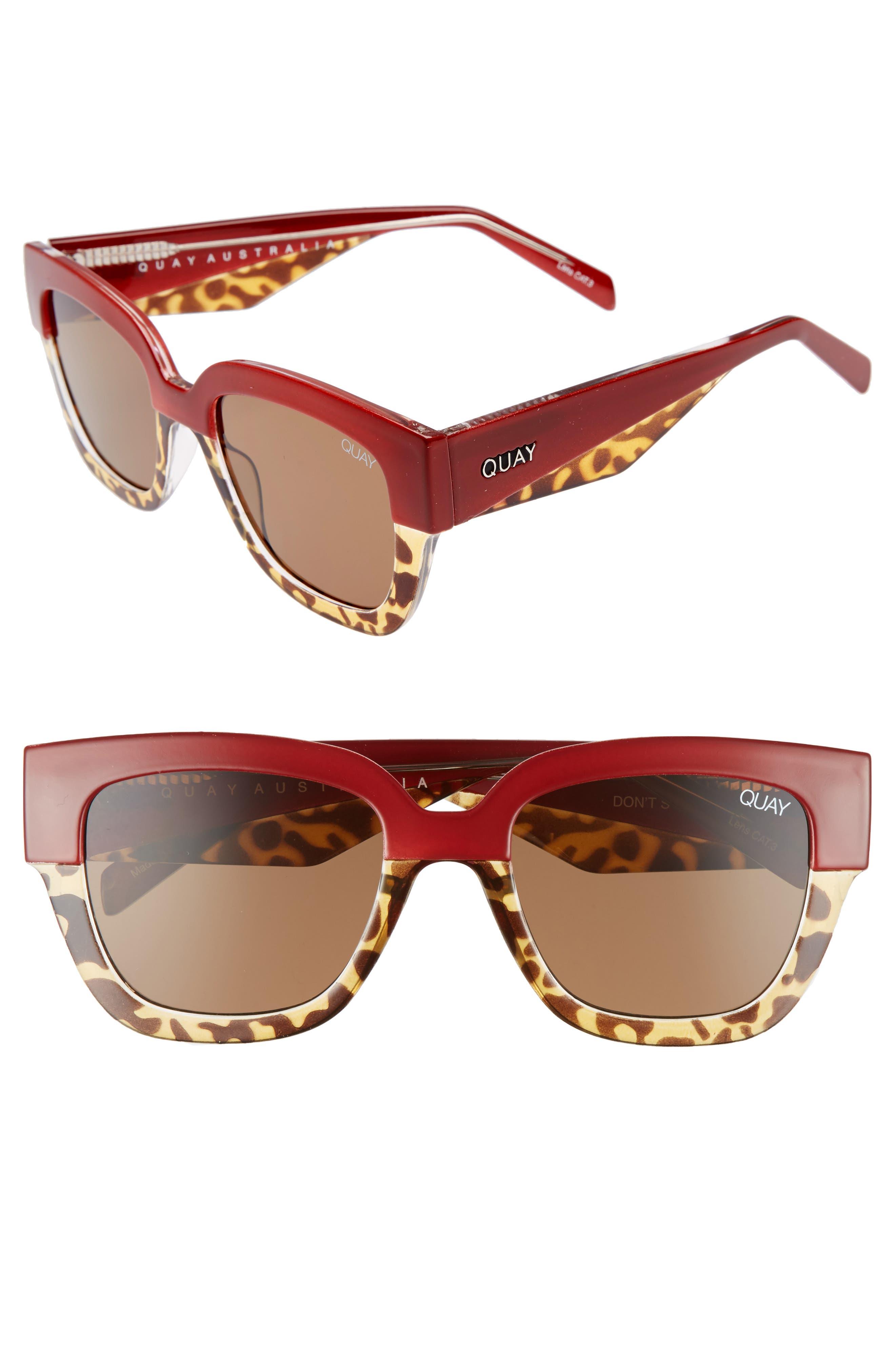 55mm Don't Stop Sunglasses,                             Main thumbnail 2, color,