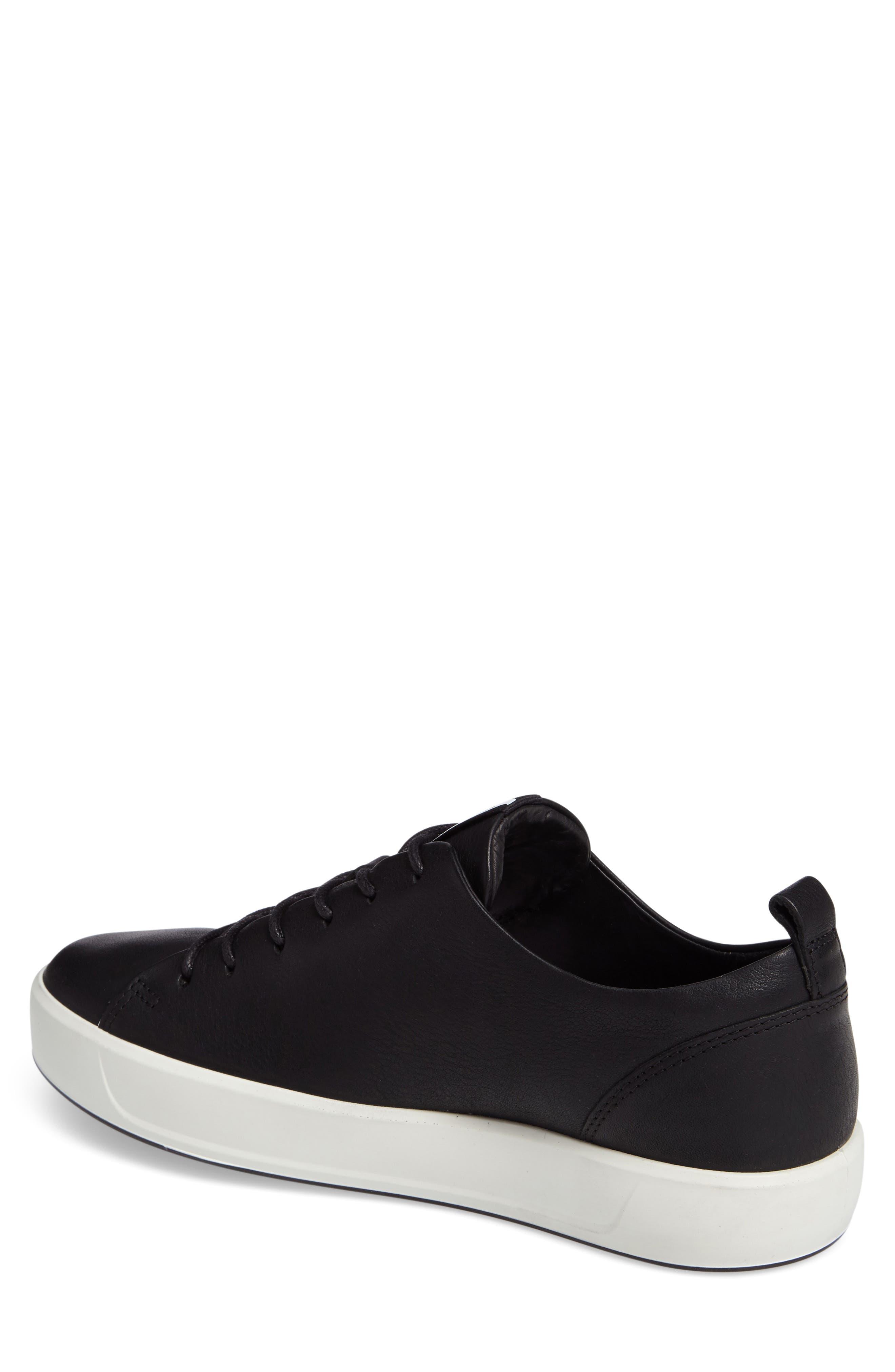 Soft 8 Sneaker,                             Alternate thumbnail 2, color,                             BLACK