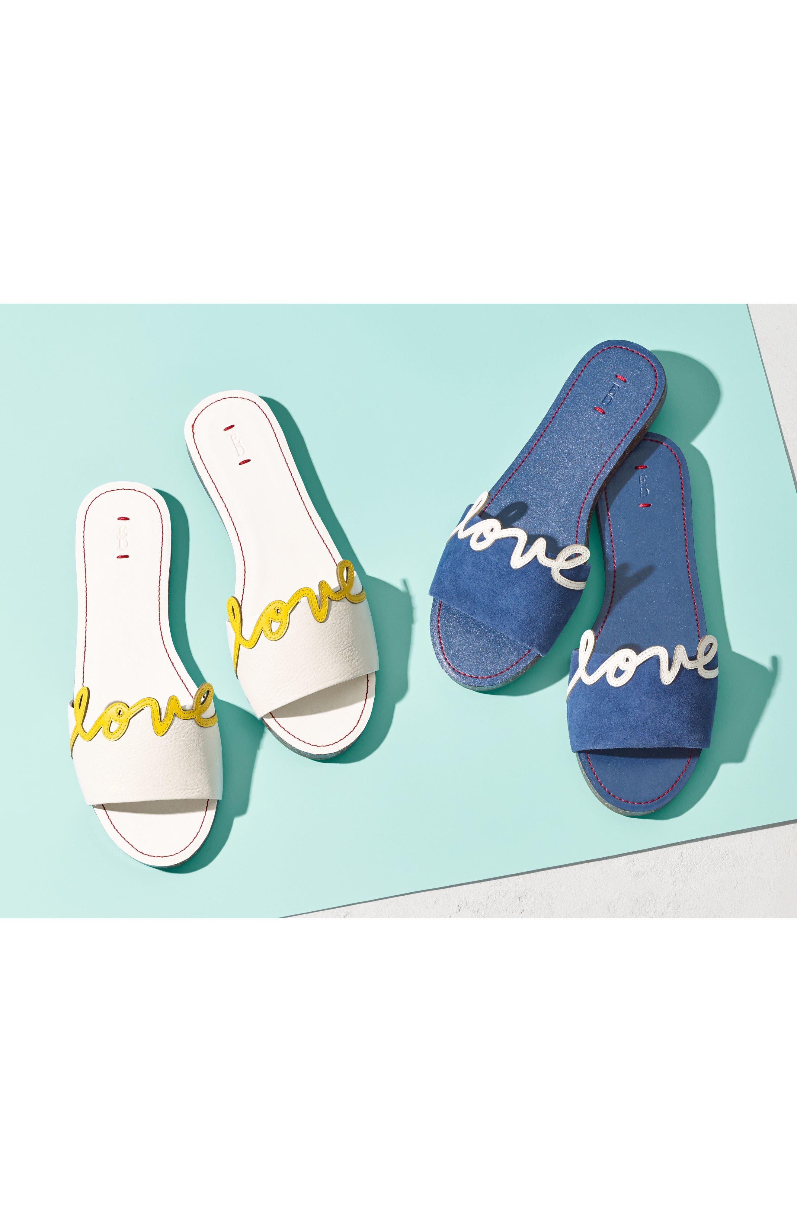 Sharlin Slide Sandal,                             Alternate thumbnail 8, color,                             110