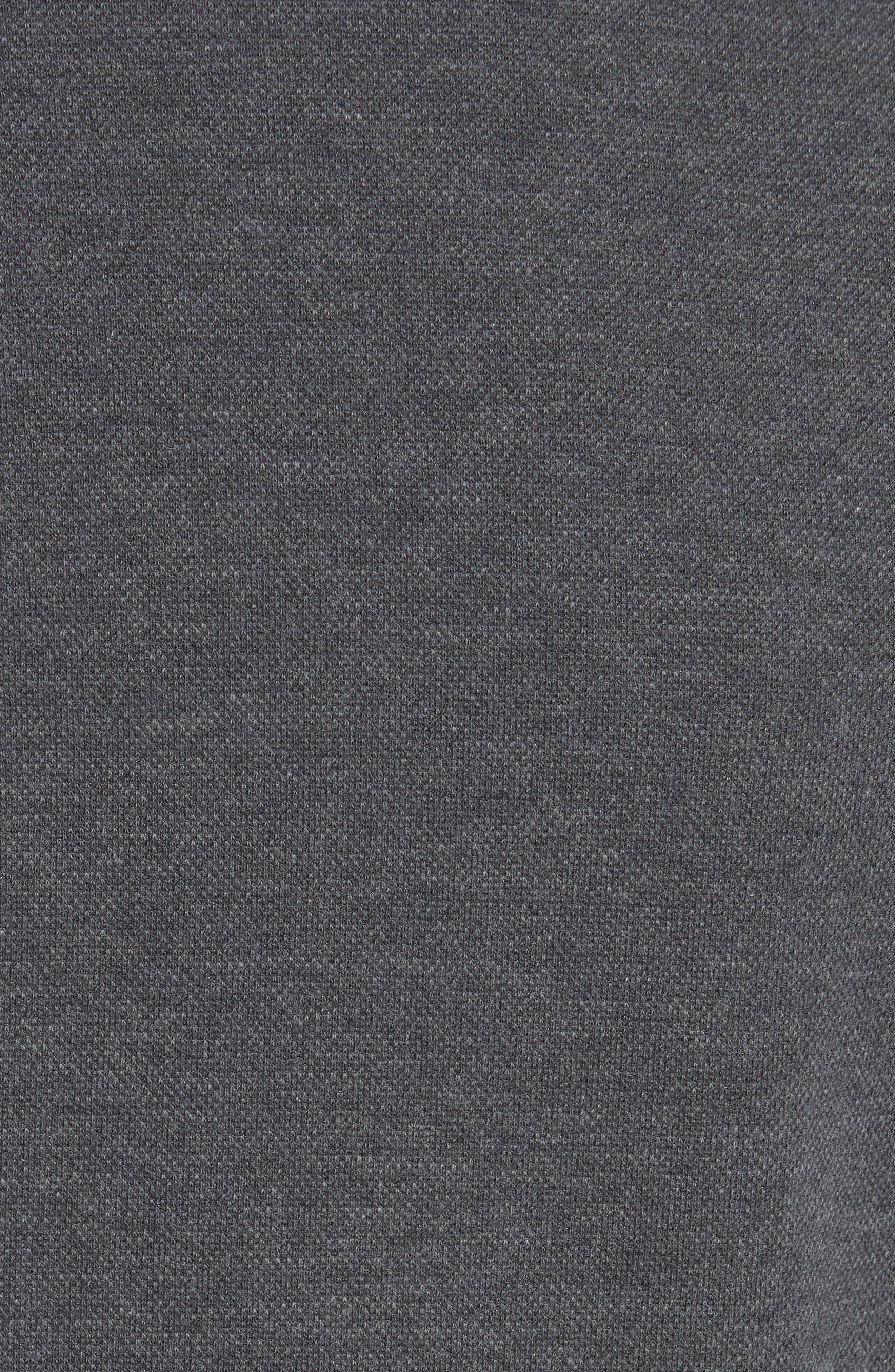 Slim Fit Stretch Cotton Blend Blazer,                             Alternate thumbnail 6, color,                             MED GREY