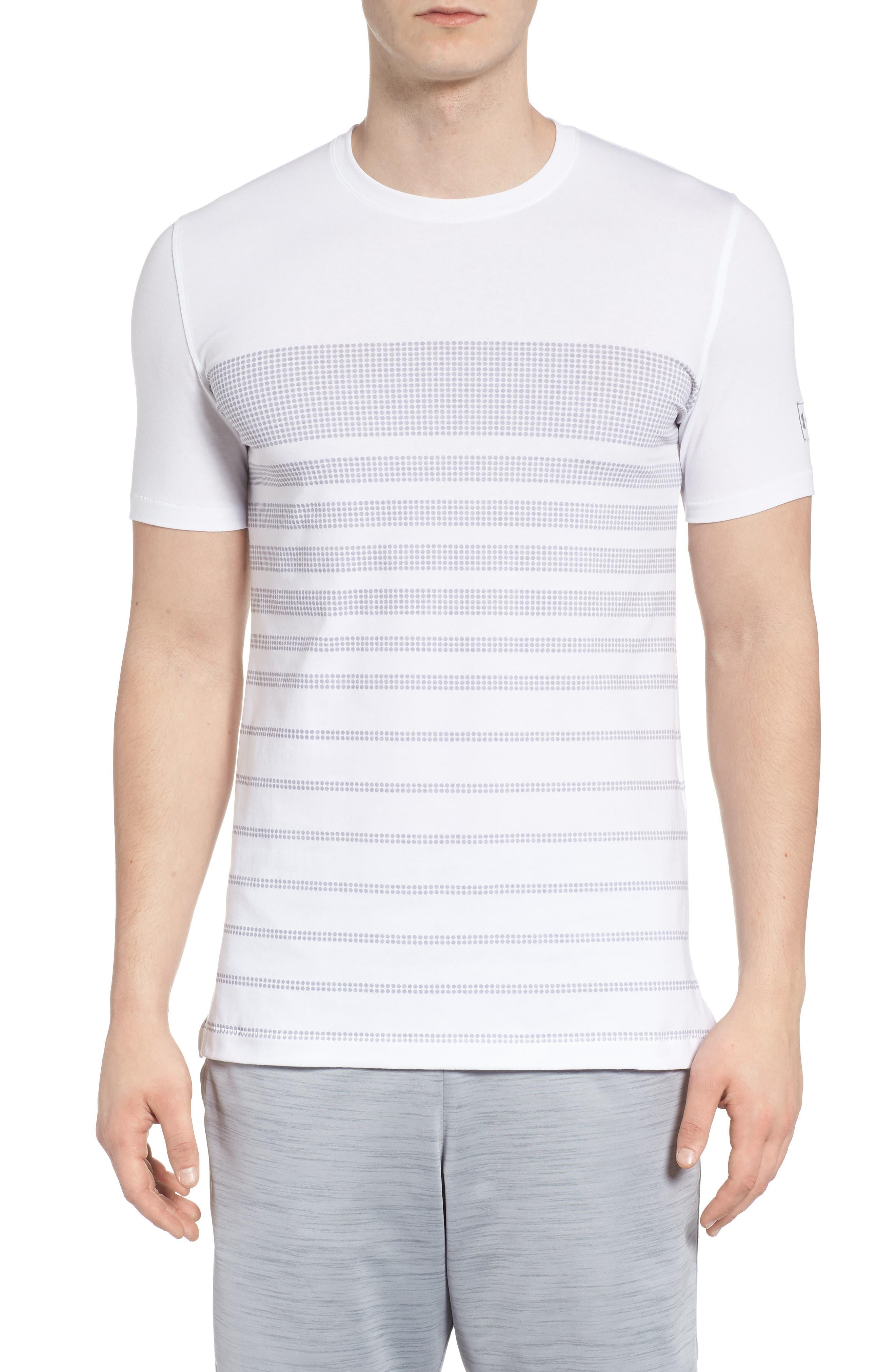 Sportstyle Crewneck T-Shirt,                             Main thumbnail 1, color,                             WHITE / OVERCAST GREH