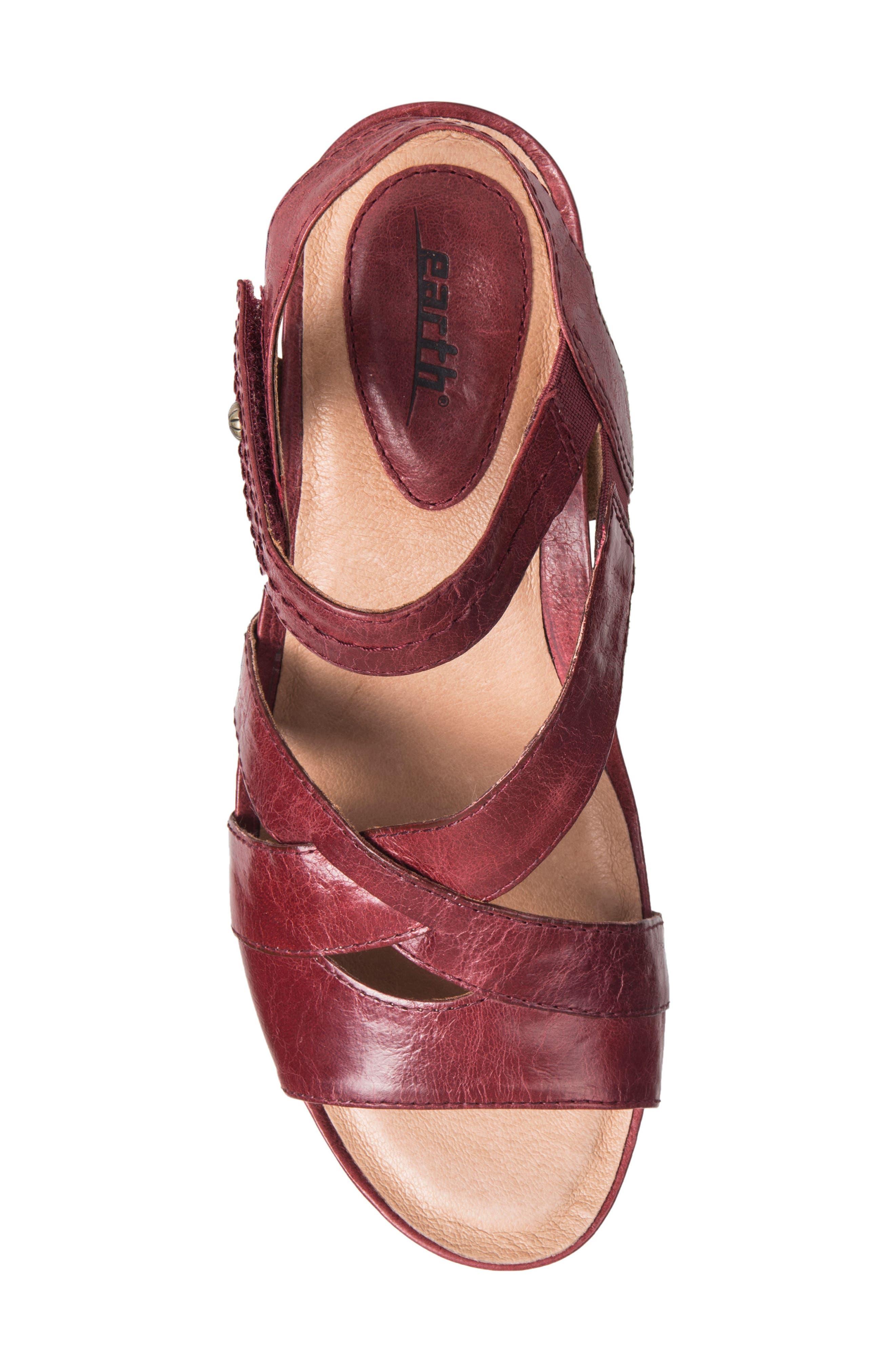 Thistle Wedge Sandal,                             Alternate thumbnail 19, color,