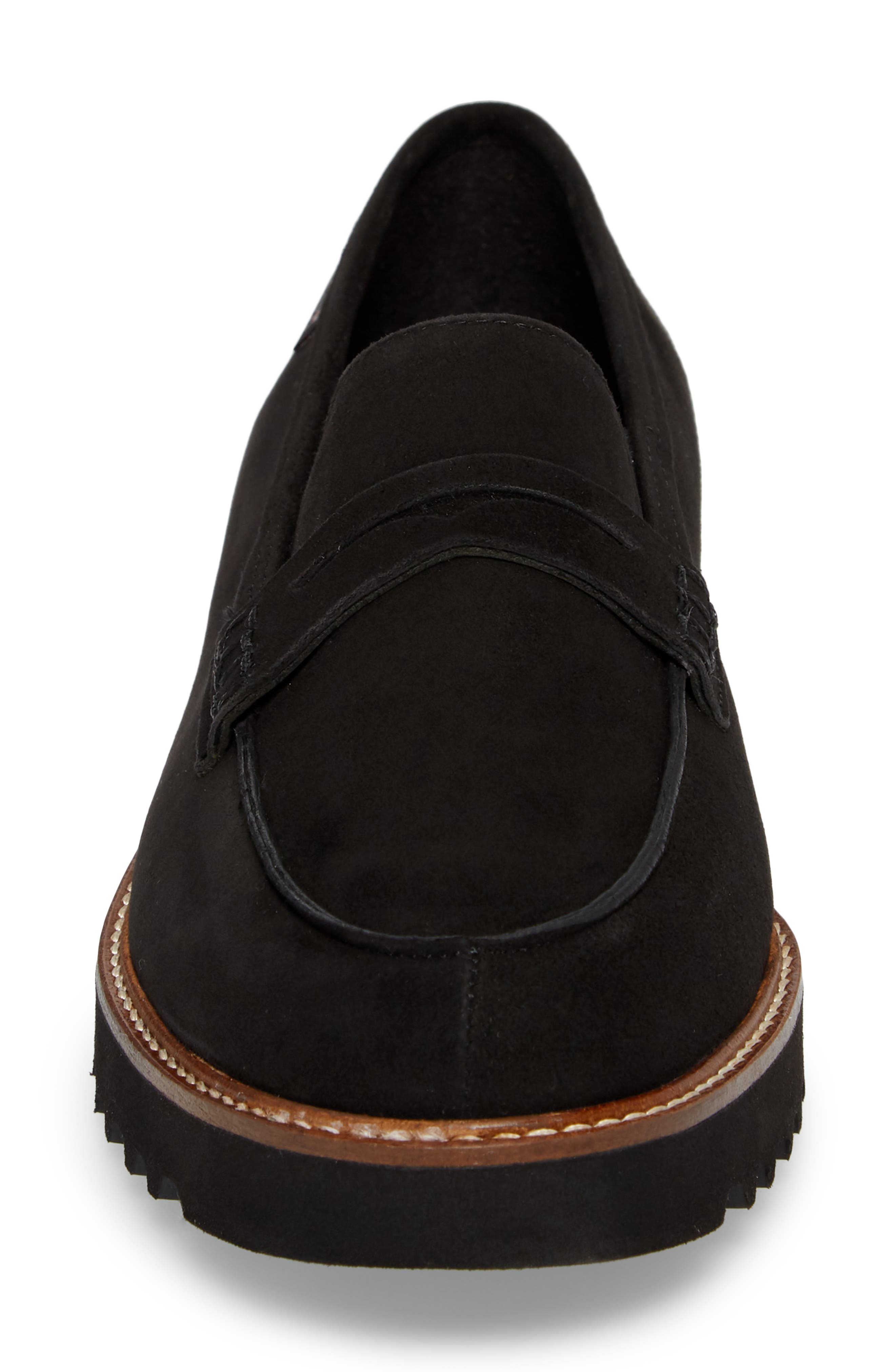 Sidney Penny Loafer,                             Alternate thumbnail 4, color,                             001