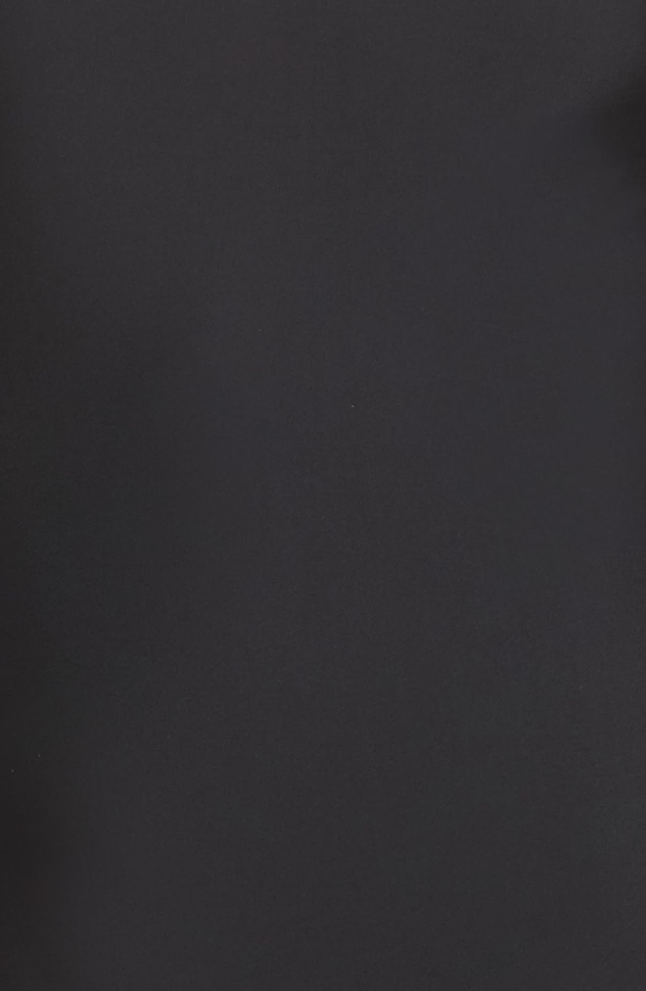 Lorimer Long Sleeve Bodysuit,                             Alternate thumbnail 5, color,                             BLACK