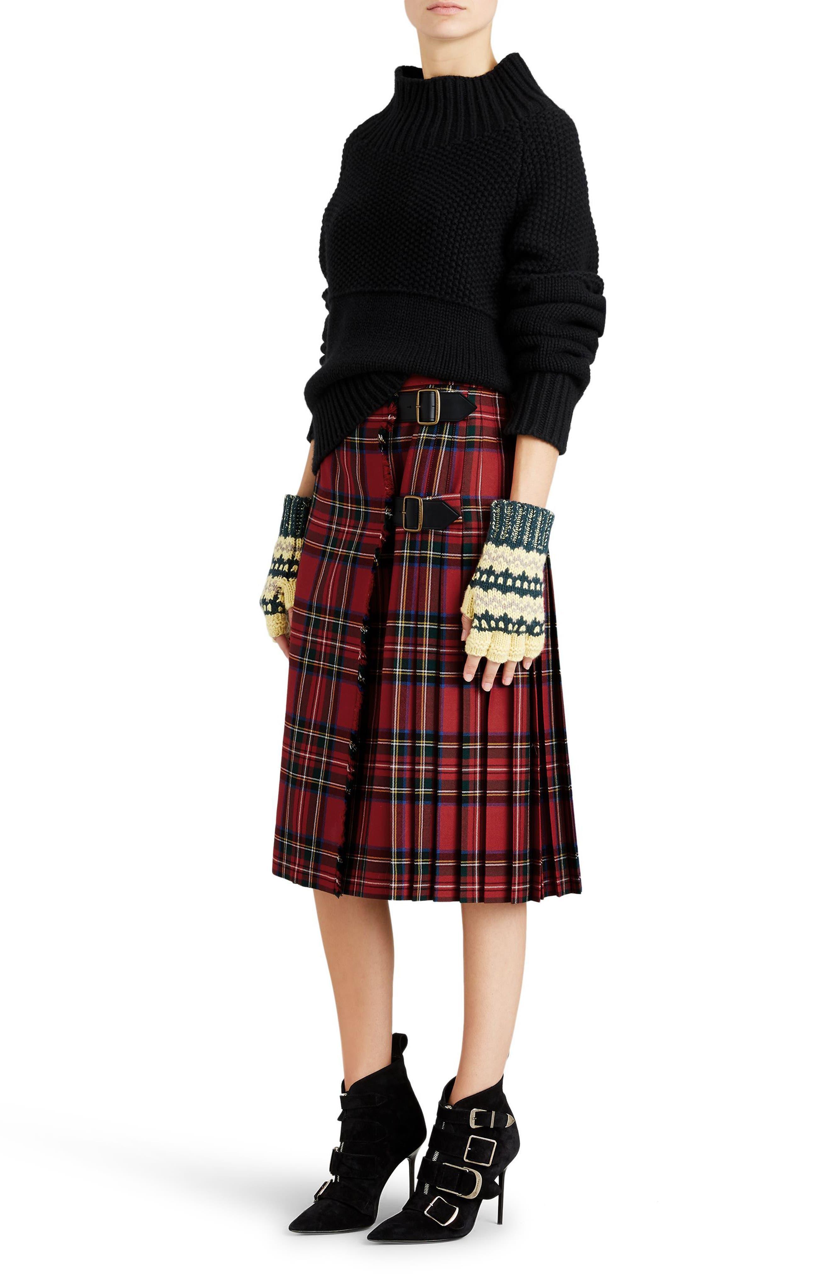 Dawson Cashmere Sweater,                             Alternate thumbnail 6, color,                             001