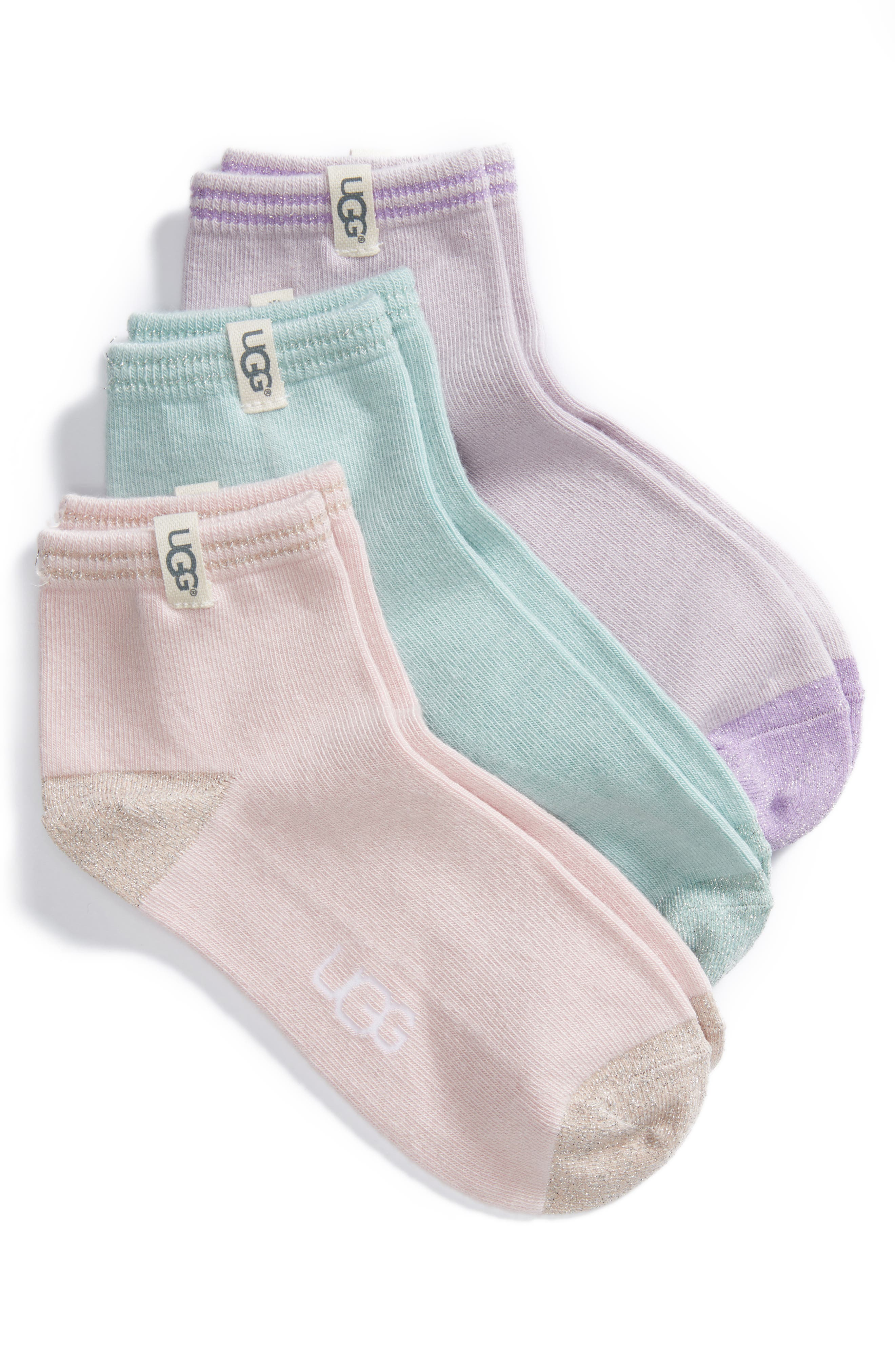 3-Pack Ankle Socks,                         Main,                         color, 400
