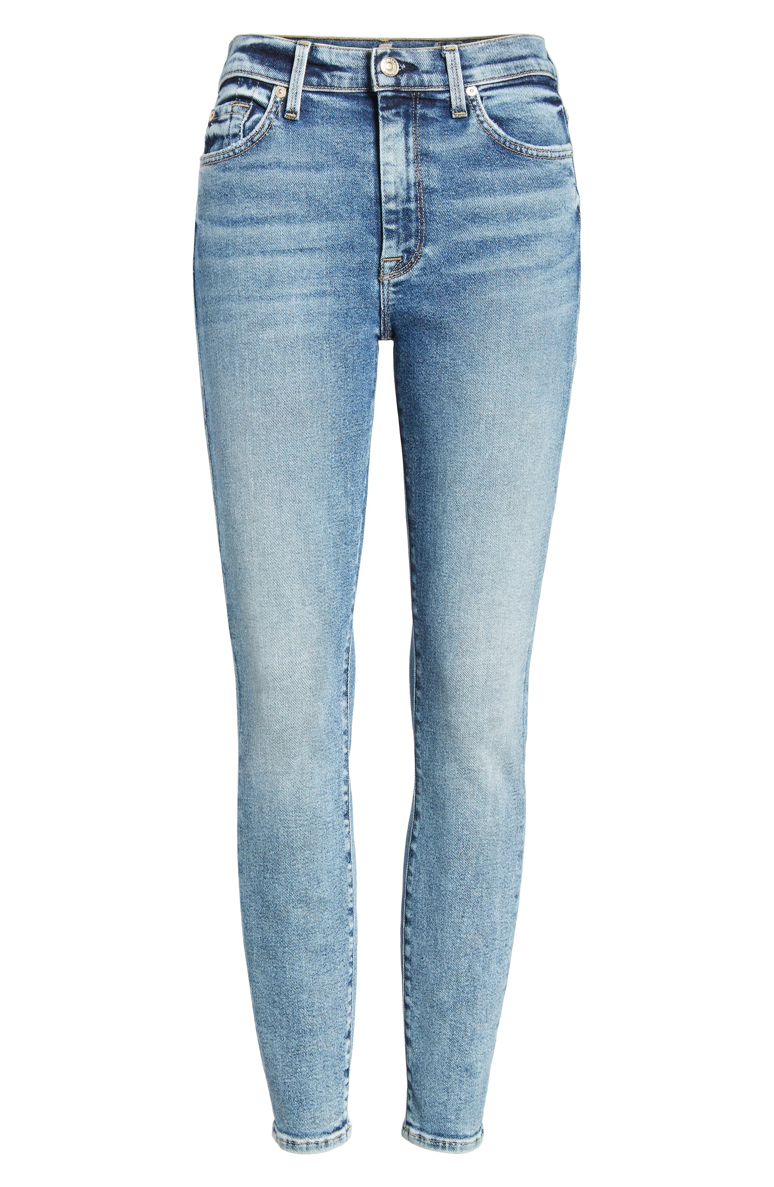 Luxe Vintage High Waist Ankle Skinny Jeans,                             Alternate thumbnail 7, color,                             LUXE VINTAGE MUSE