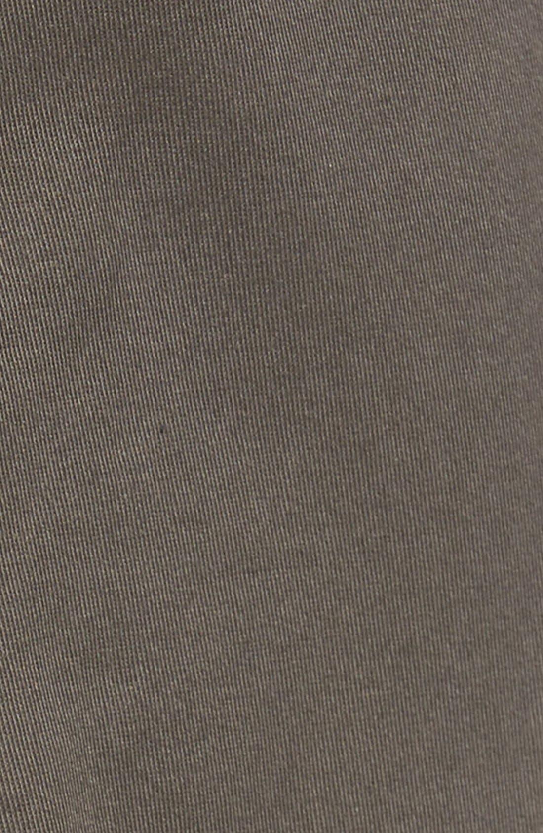 Soho Slim Fit Five-Pocket Pants,                             Alternate thumbnail 6, color,                             GREY
