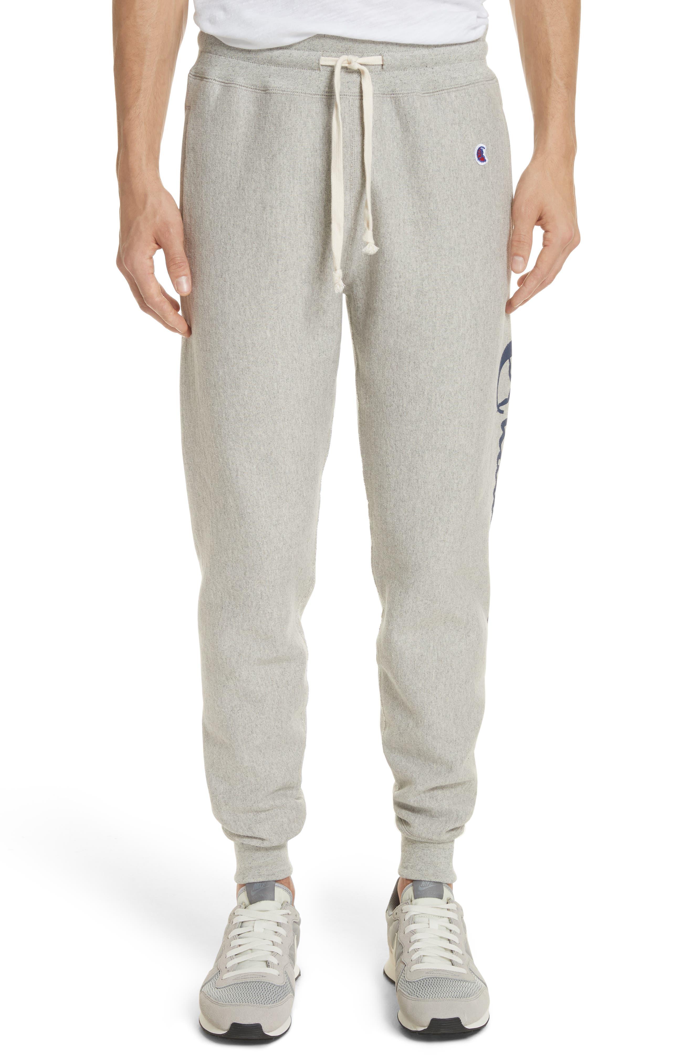 + Champion Sweatpants,                             Main thumbnail 1, color,                             069