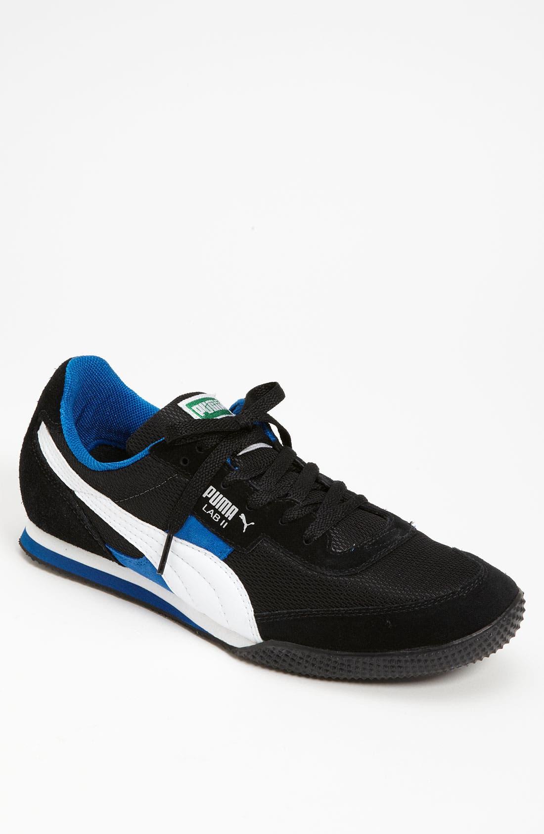 PUMA,                             'Lab II FB' Sneaker,                             Main thumbnail 1, color,                             001