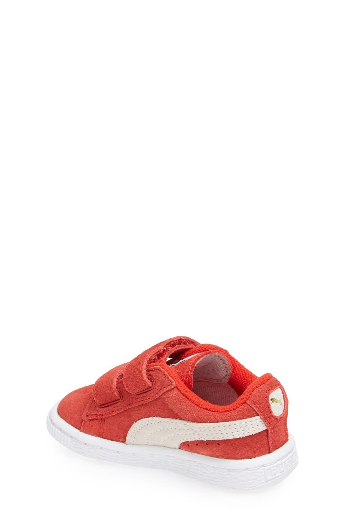 Suede Sneaker,                             Alternate thumbnail 19, color,