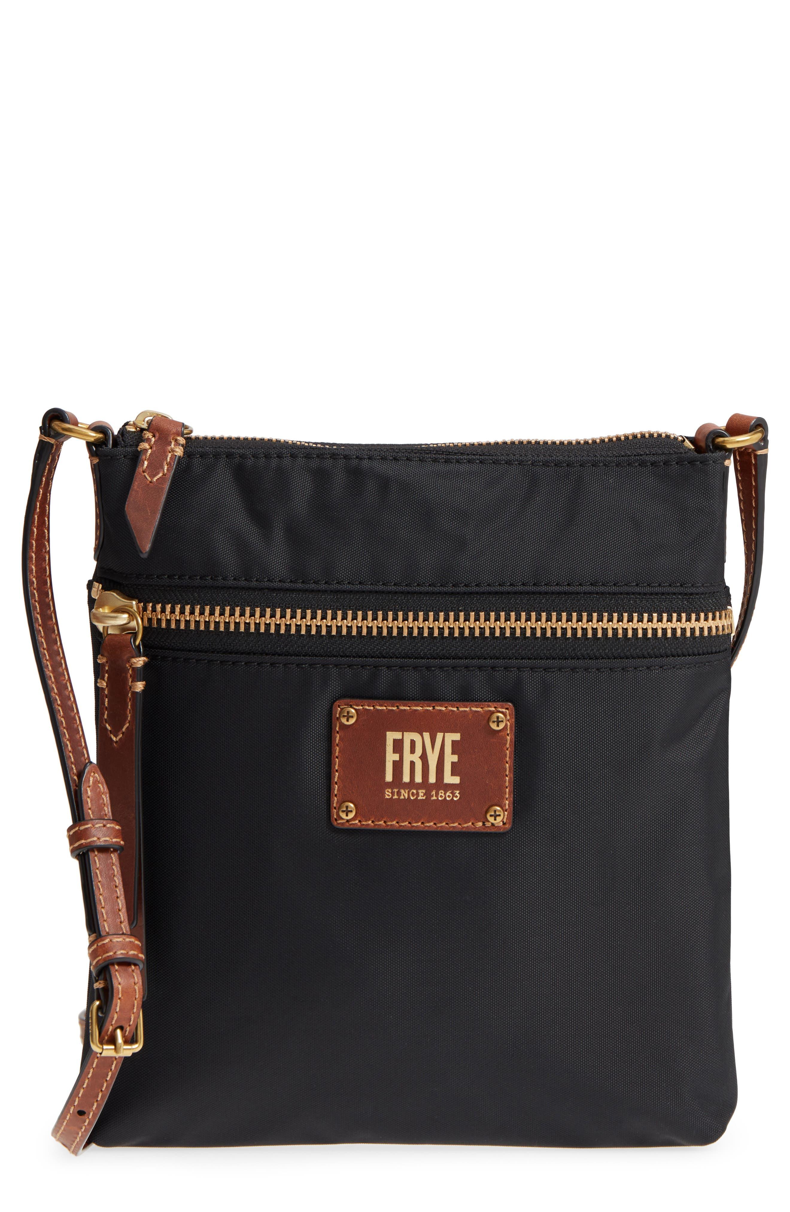 Ivy Nylon Crossbody Bag,                         Main,                         color, 001