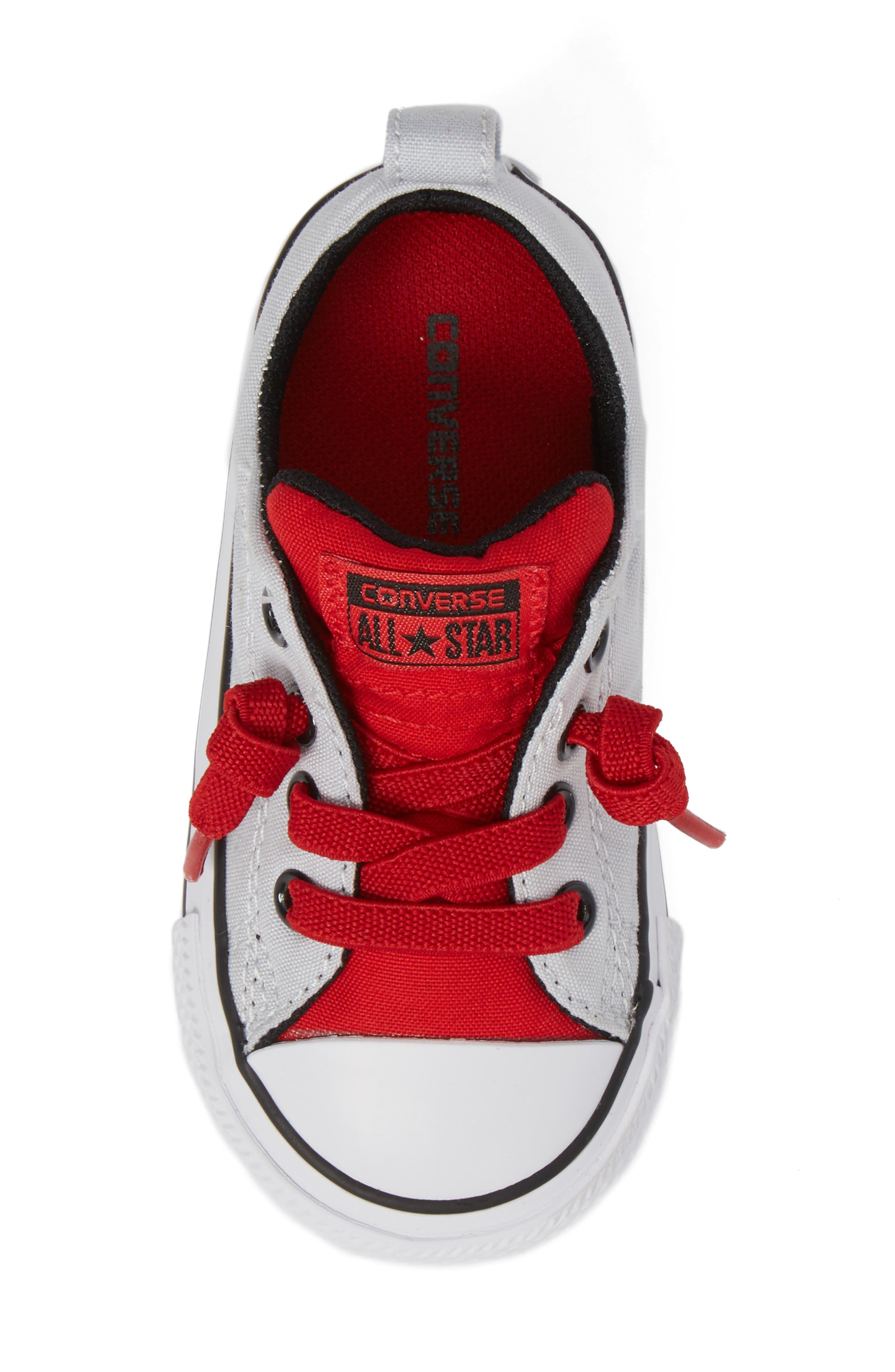 All Star<sup>®</sup> Street Slip Low Top Sneaker,                             Alternate thumbnail 5, color,                             040