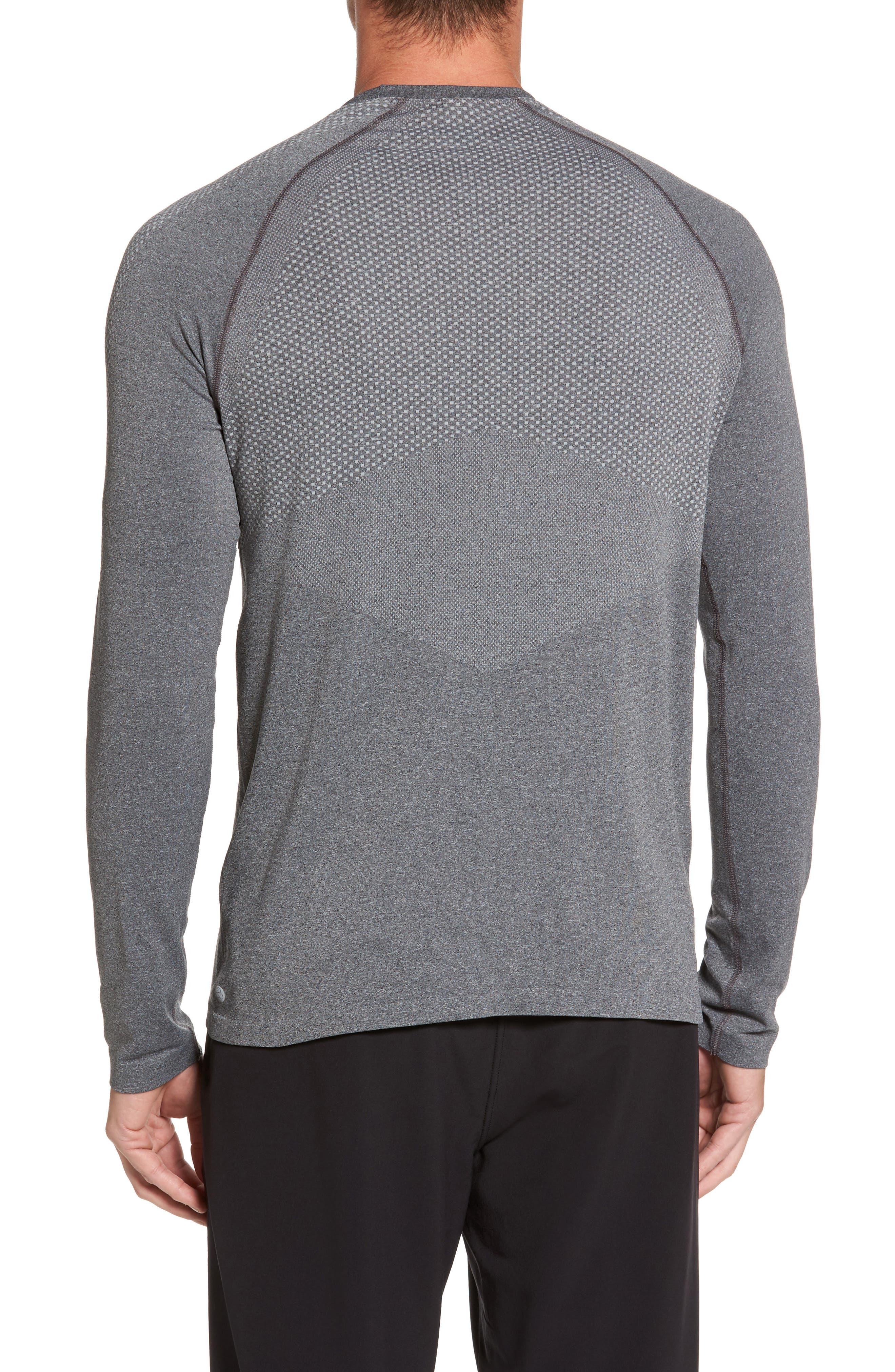 Zeolite Long Sleeve Performance T-Shirt,                             Alternate thumbnail 2, color,                             050