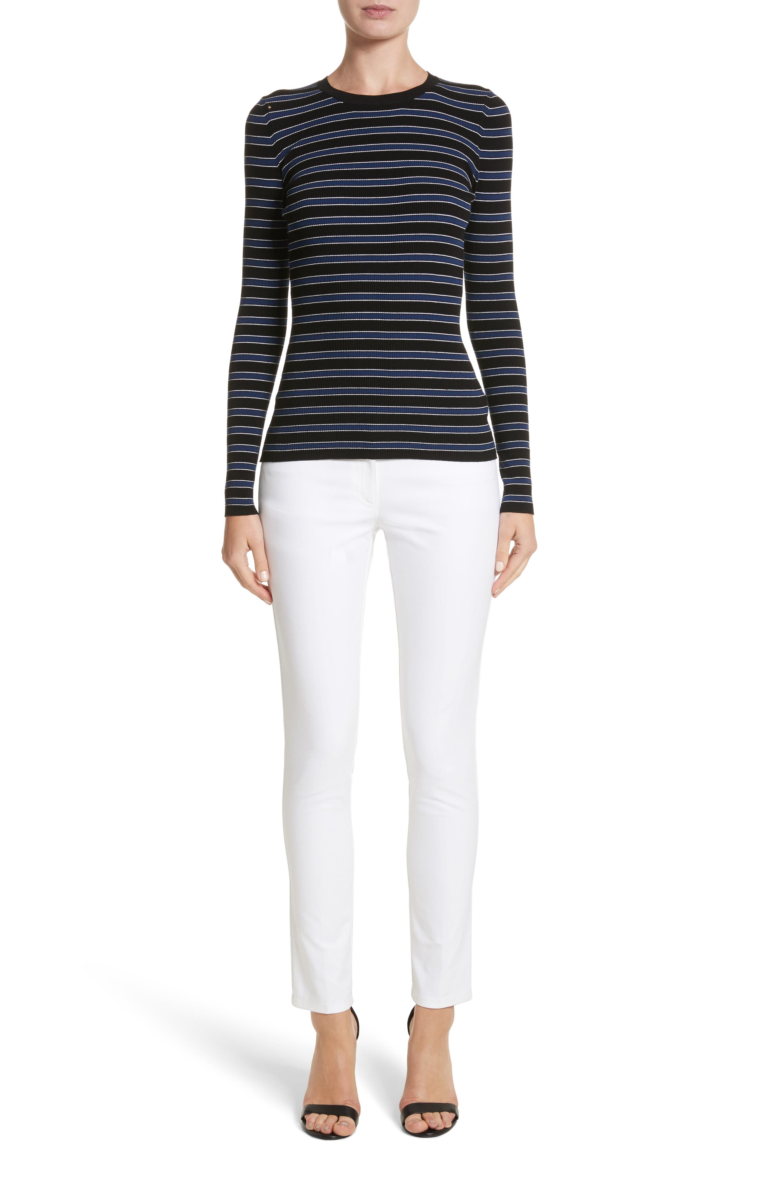 Stripe Top,                             Alternate thumbnail 7, color,