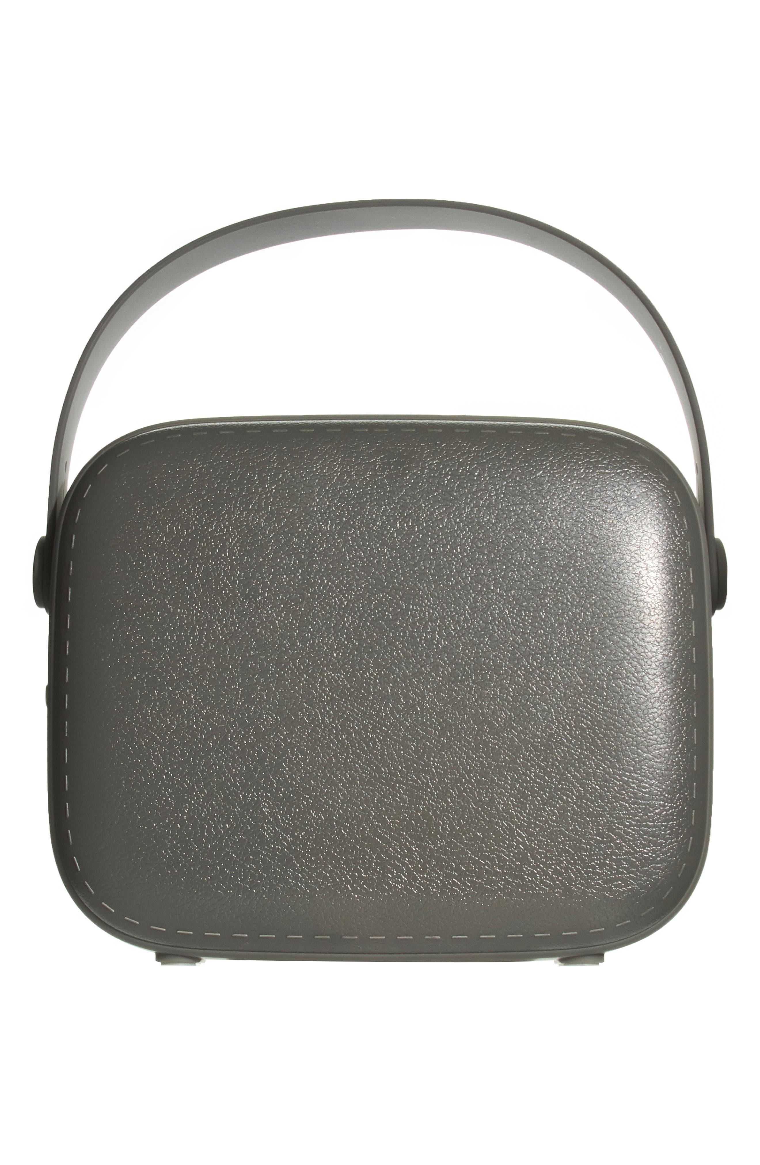 Vintage Wireless Bluetooth<sup>®</sup> Speaker,                             Alternate thumbnail 2, color,                             GREY