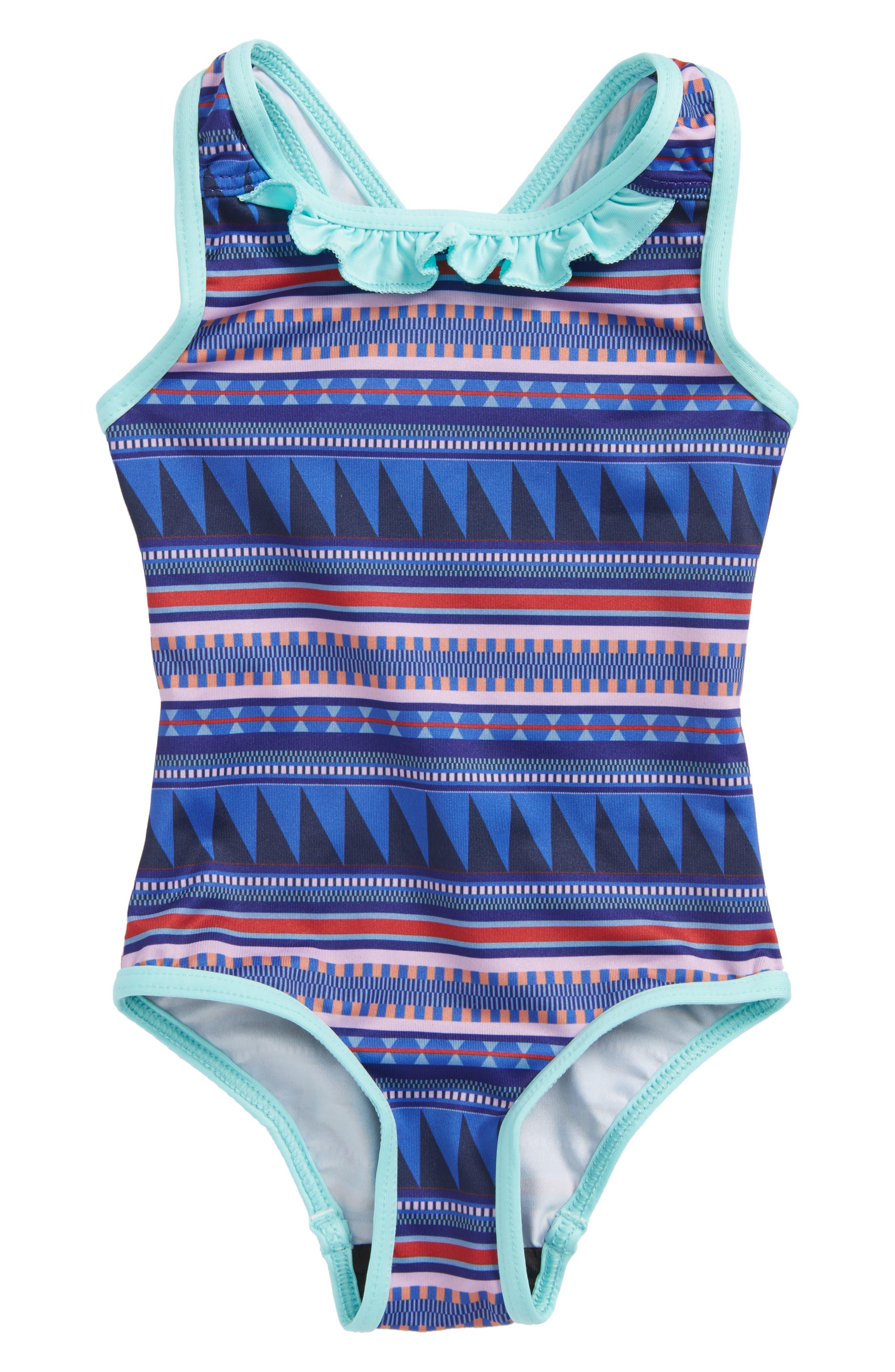 QT One-Piece Swimsuit,                         Main,                         color, 400