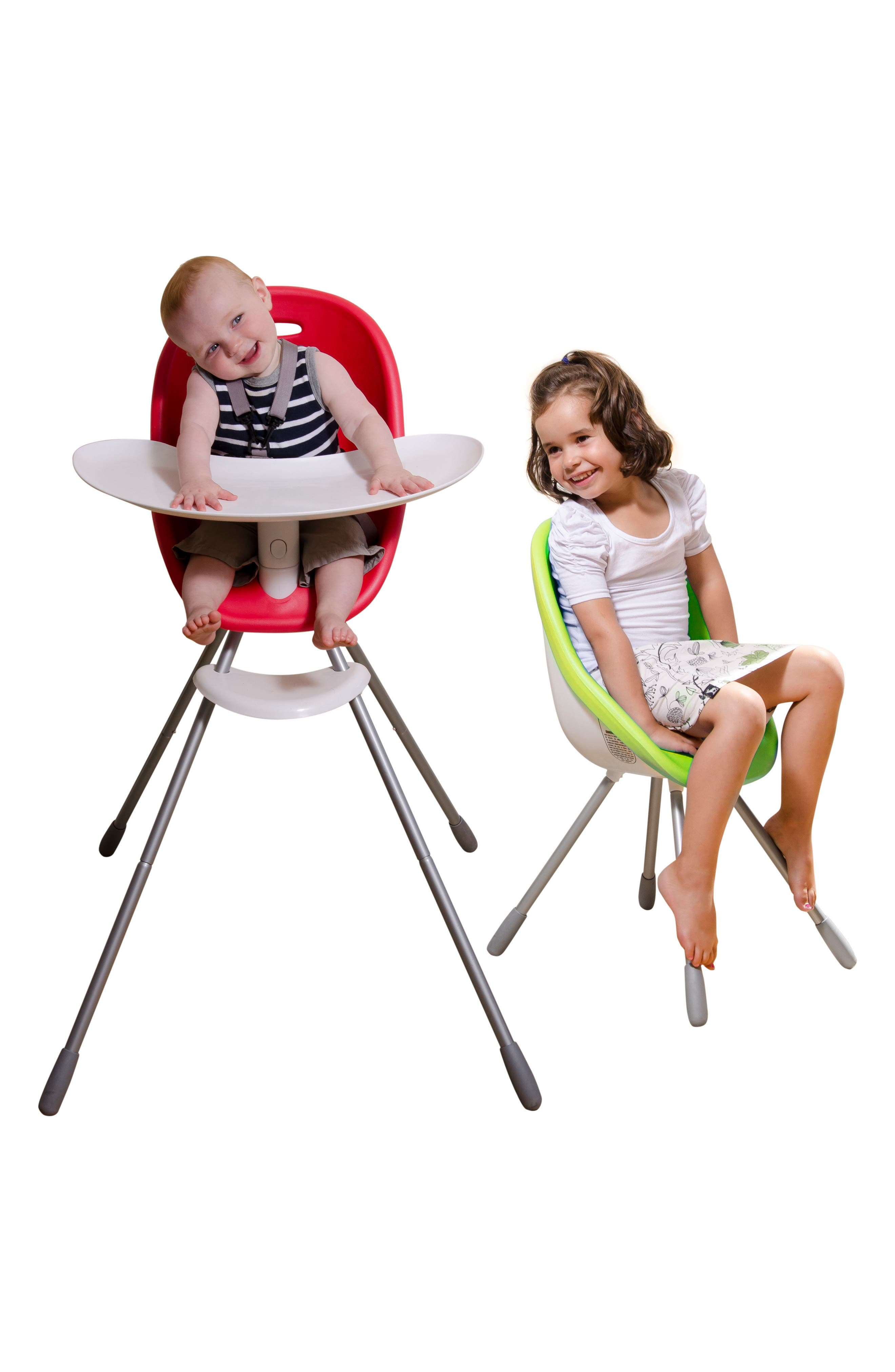 Poppy High Chair,                             Alternate thumbnail 6, color,                             LIME