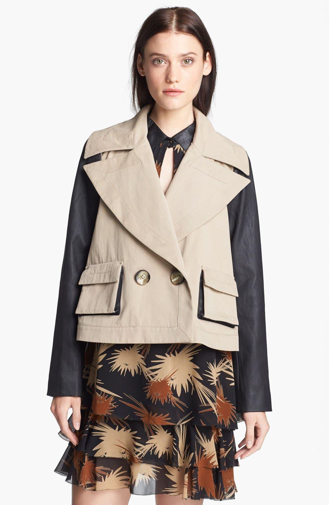 'Keira' Crop Jacket,                         Main,                         color, 250