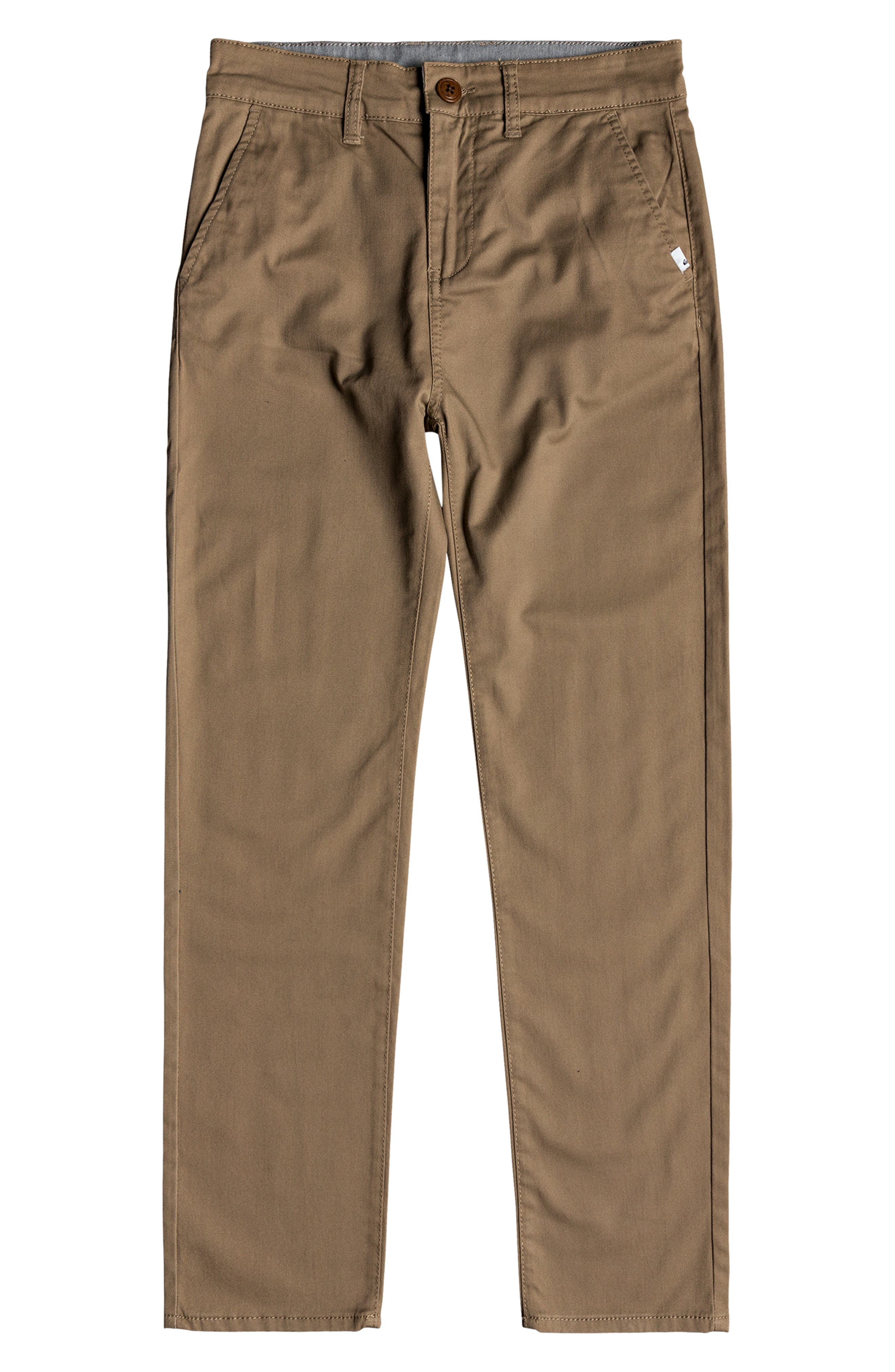 Boys Quiksilver Everyday Union Straight Leg Pants Size 26  Brown