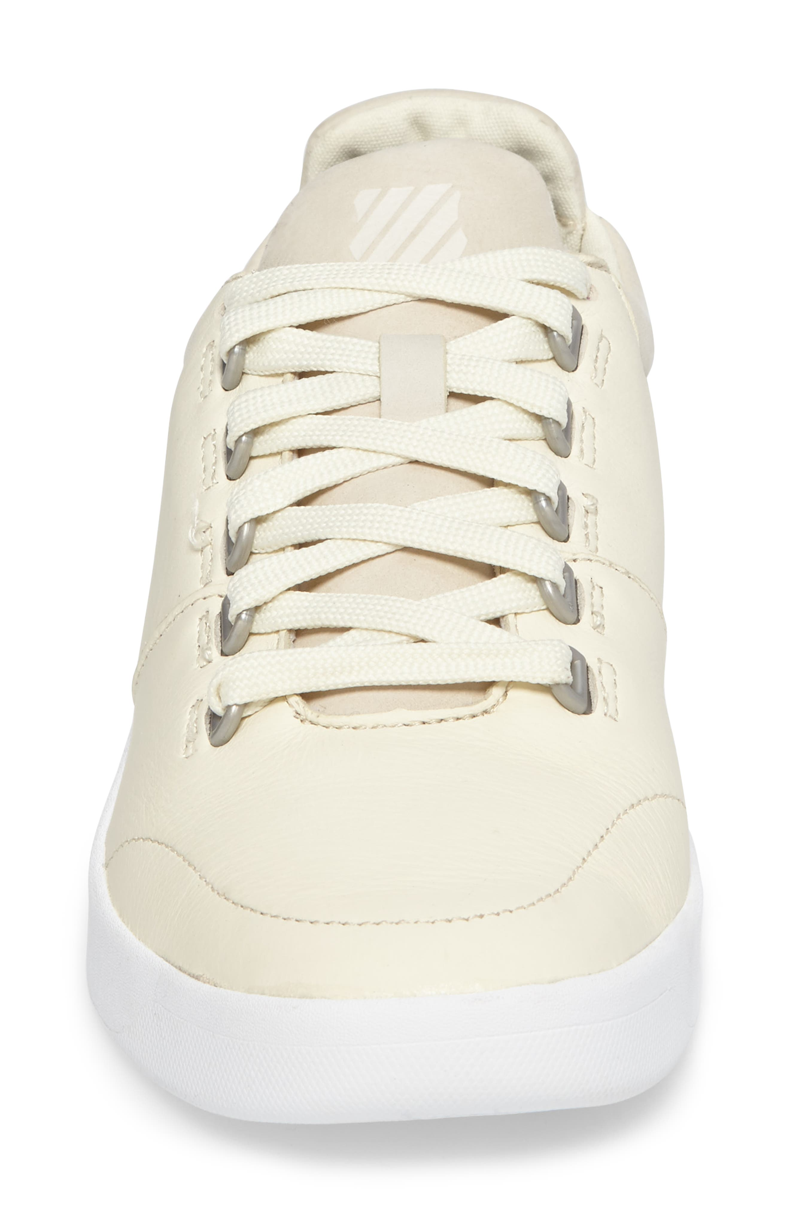 Aero Trainer Sneaker,                             Alternate thumbnail 4, color,                             VANILLA ICE/ WHITE
