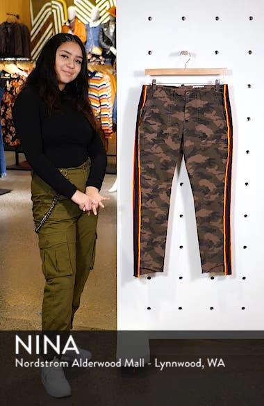 Uniform Stripe Step Hem Pants, sales video thumbnail