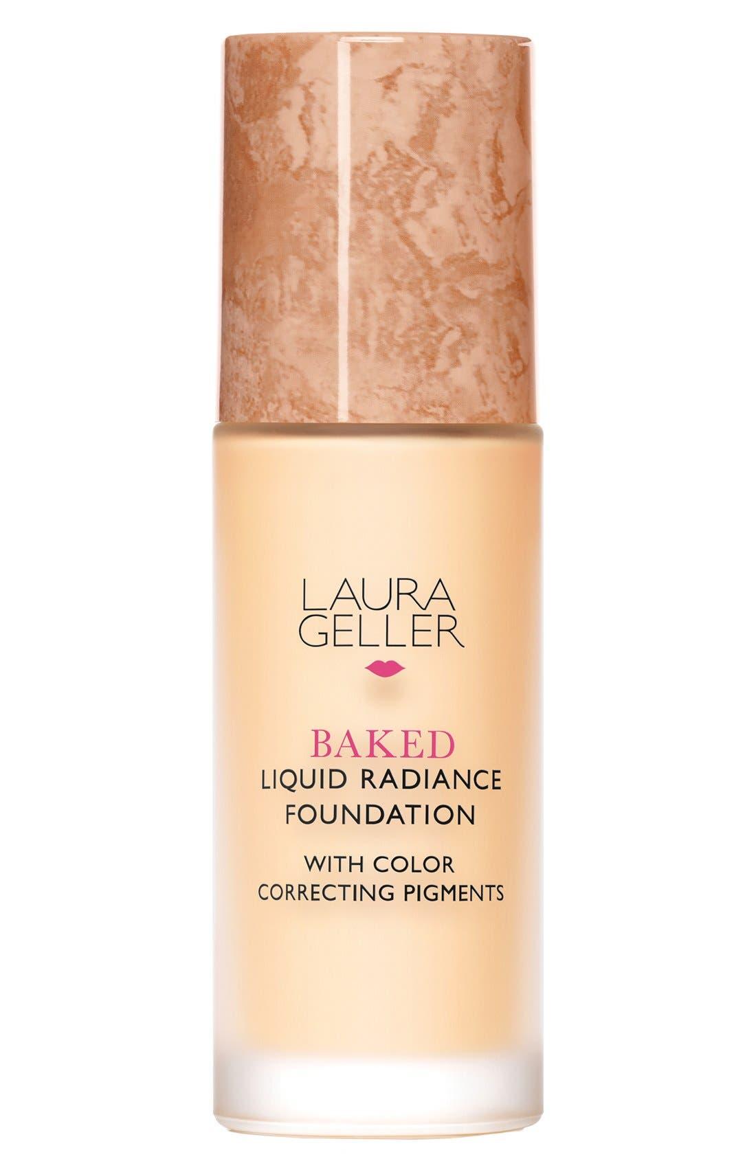 'Baked' Liquid Radiance Foundation,                             Main thumbnail 1, color,                             250