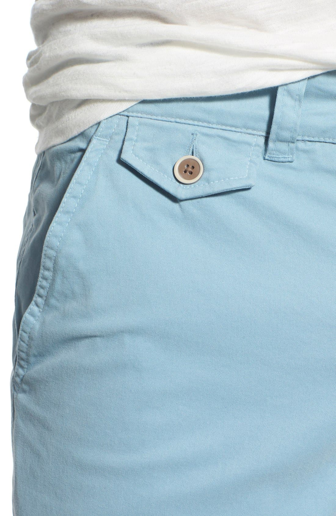 'Sunny' Stretch Twill Chino Shorts,                             Alternate thumbnail 24, color,