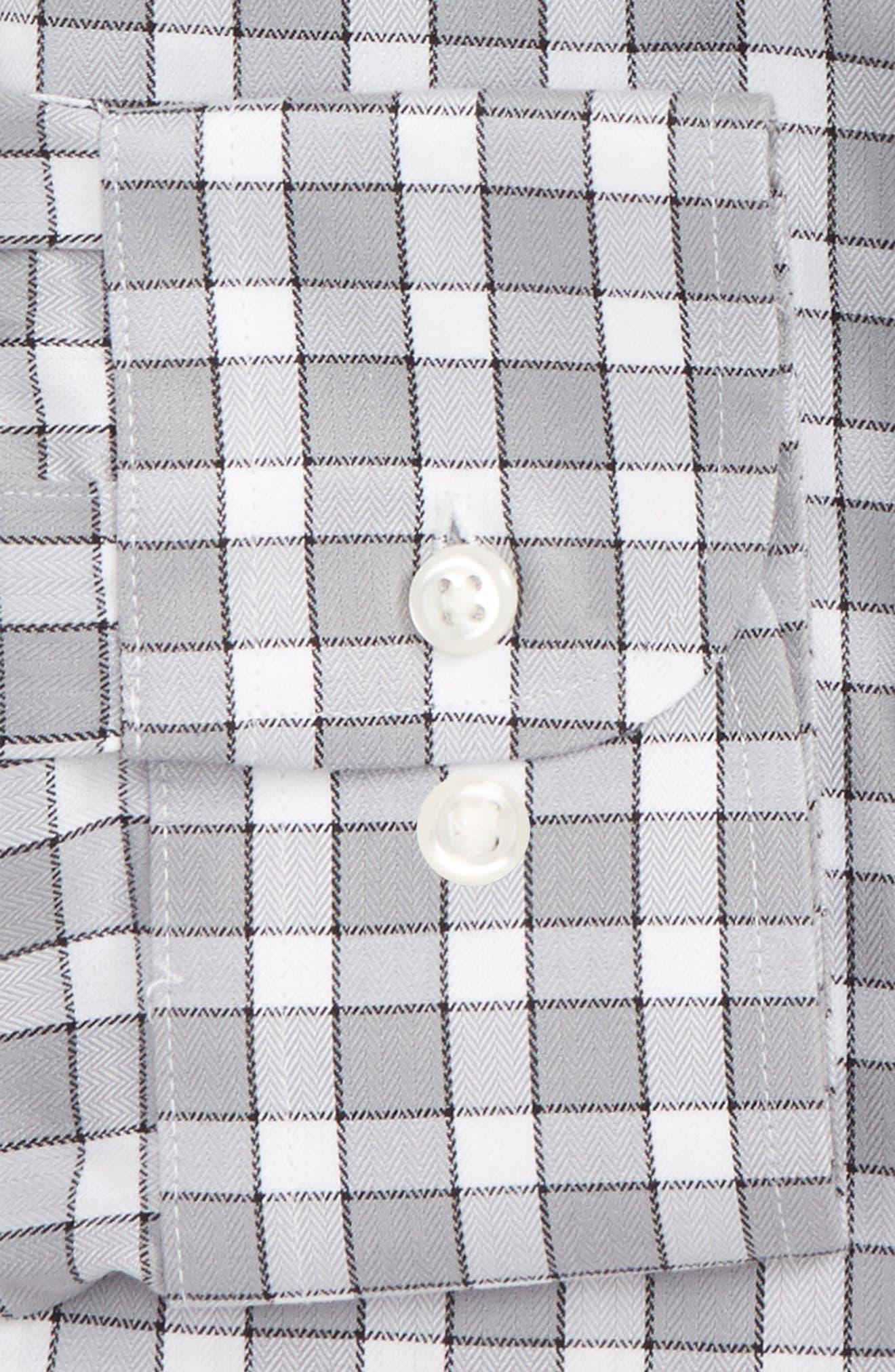 Smartcare<sup>™</sup> Traditional Fit Check Dress Shirt,                             Alternate thumbnail 2, color,                             050