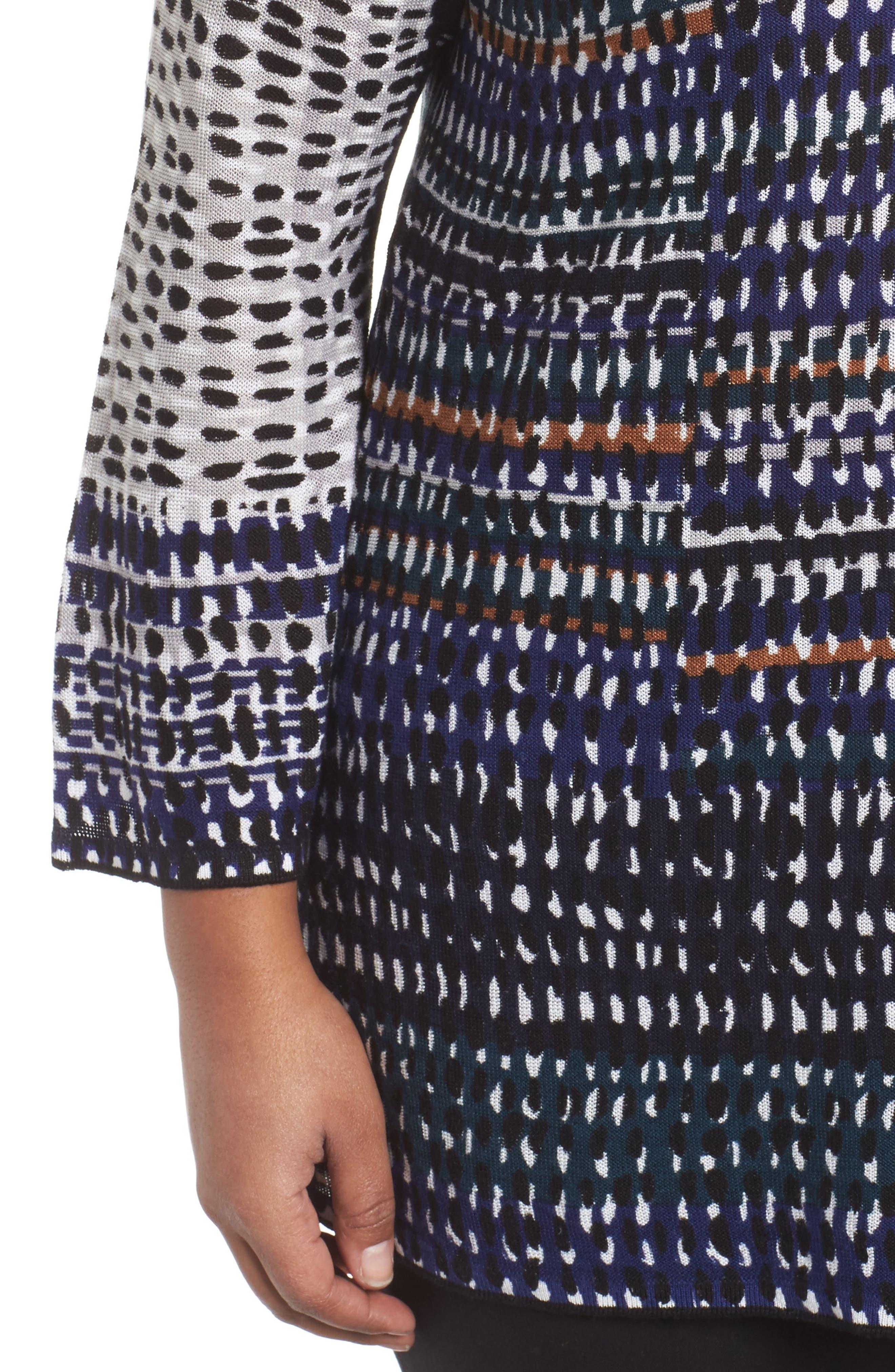 New Light Knit Tunic Top,                             Alternate thumbnail 4, color,