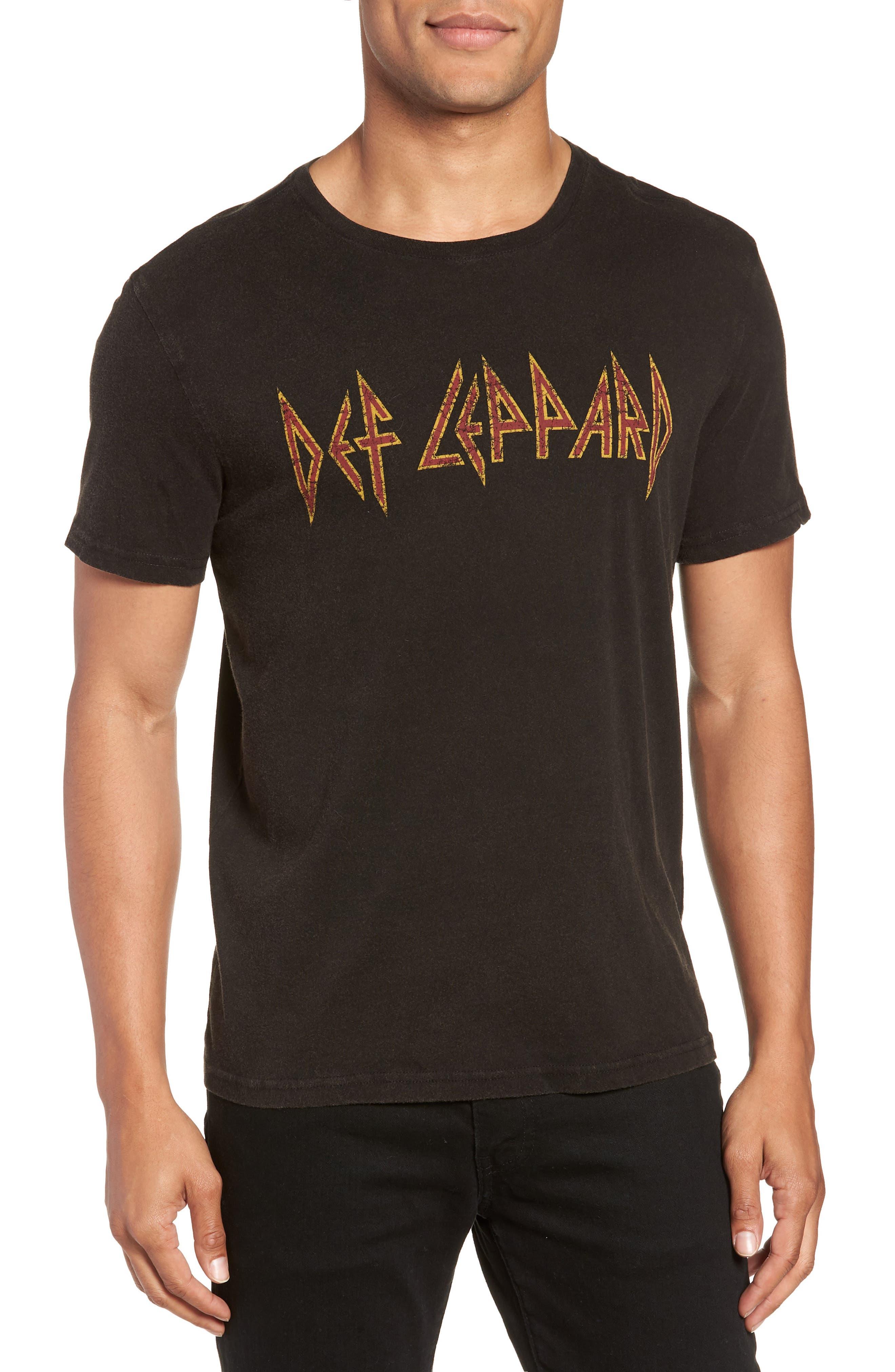 Def Leppard Graphic T-Shirt,                             Main thumbnail 1, color,                             001