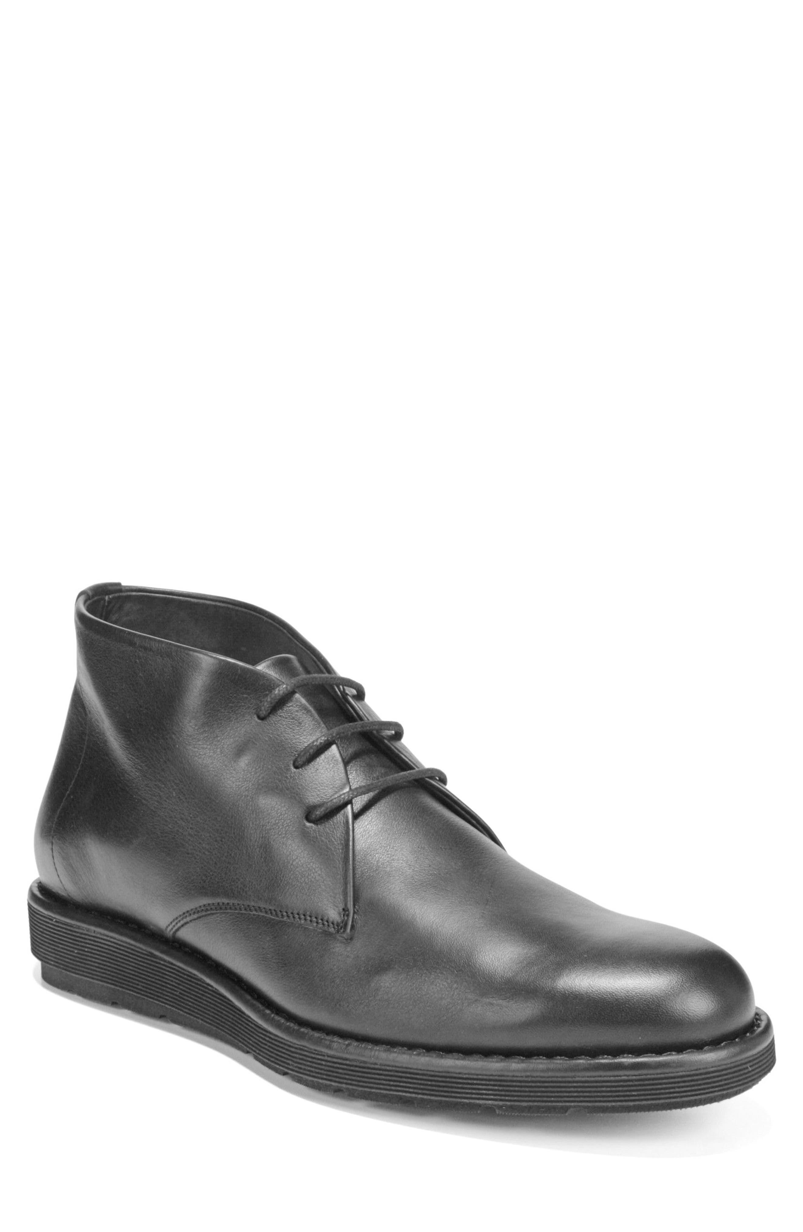 Walden Chukka Boot,                             Main thumbnail 1, color,                             BLACK