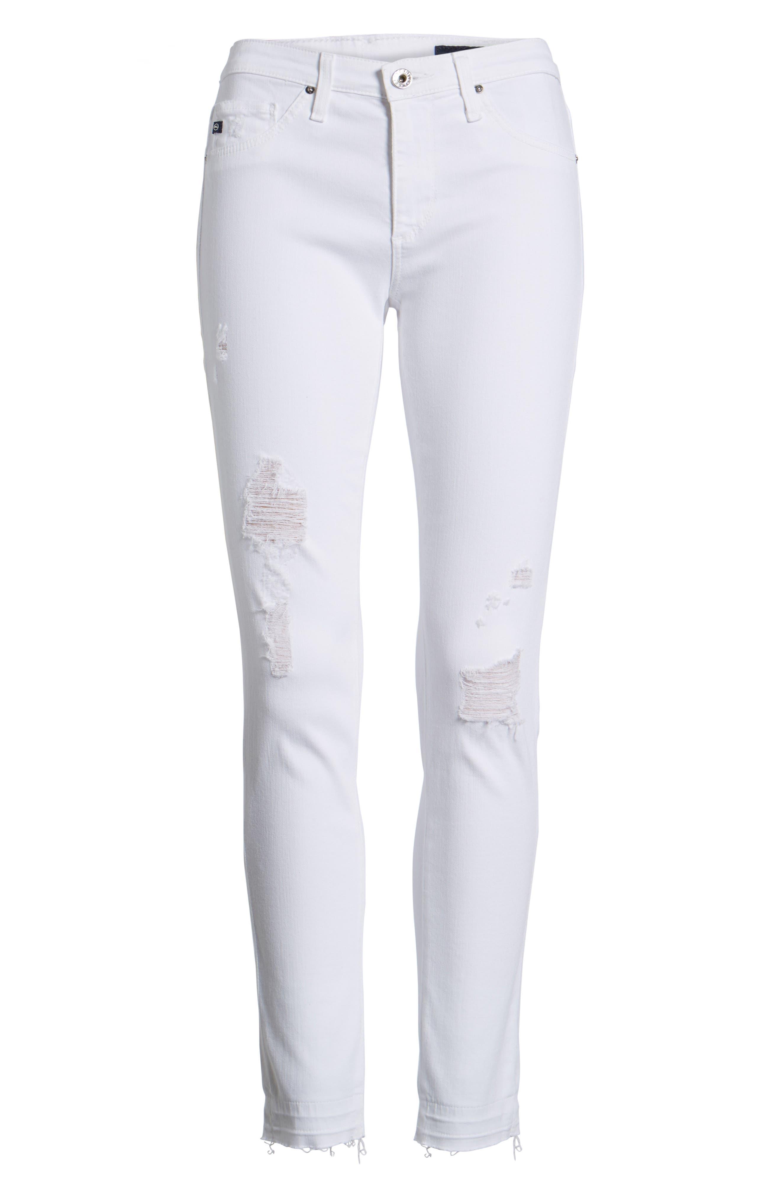 The Legging Ankle Super Skinny Jeans,                             Alternate thumbnail 7, color,