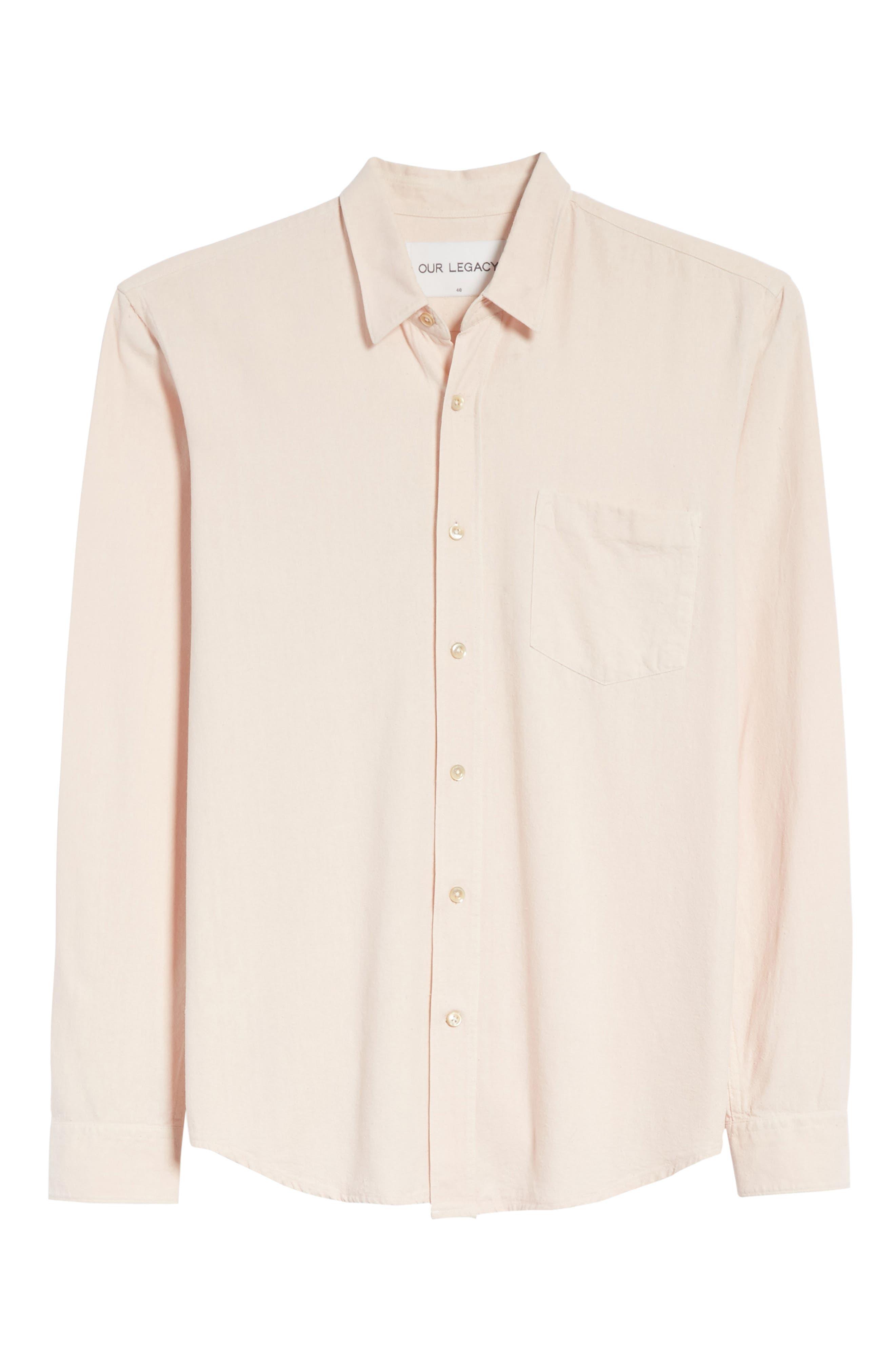 Classic Silk Shirt,                             Alternate thumbnail 6, color,                             650
