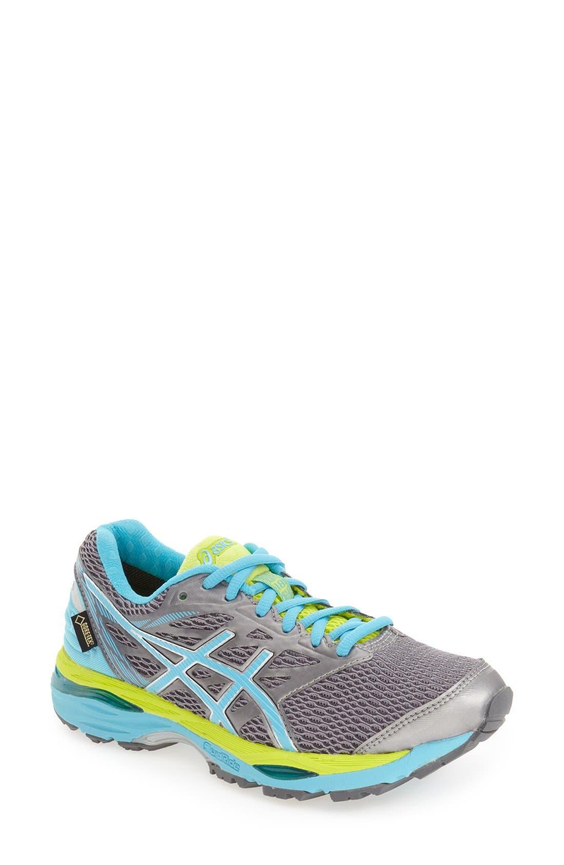 'GEL-Cumulus<sup>®</sup> 18' Gore-Tex<sup>®</sup> Running Shoe,                         Main,                         color, 096