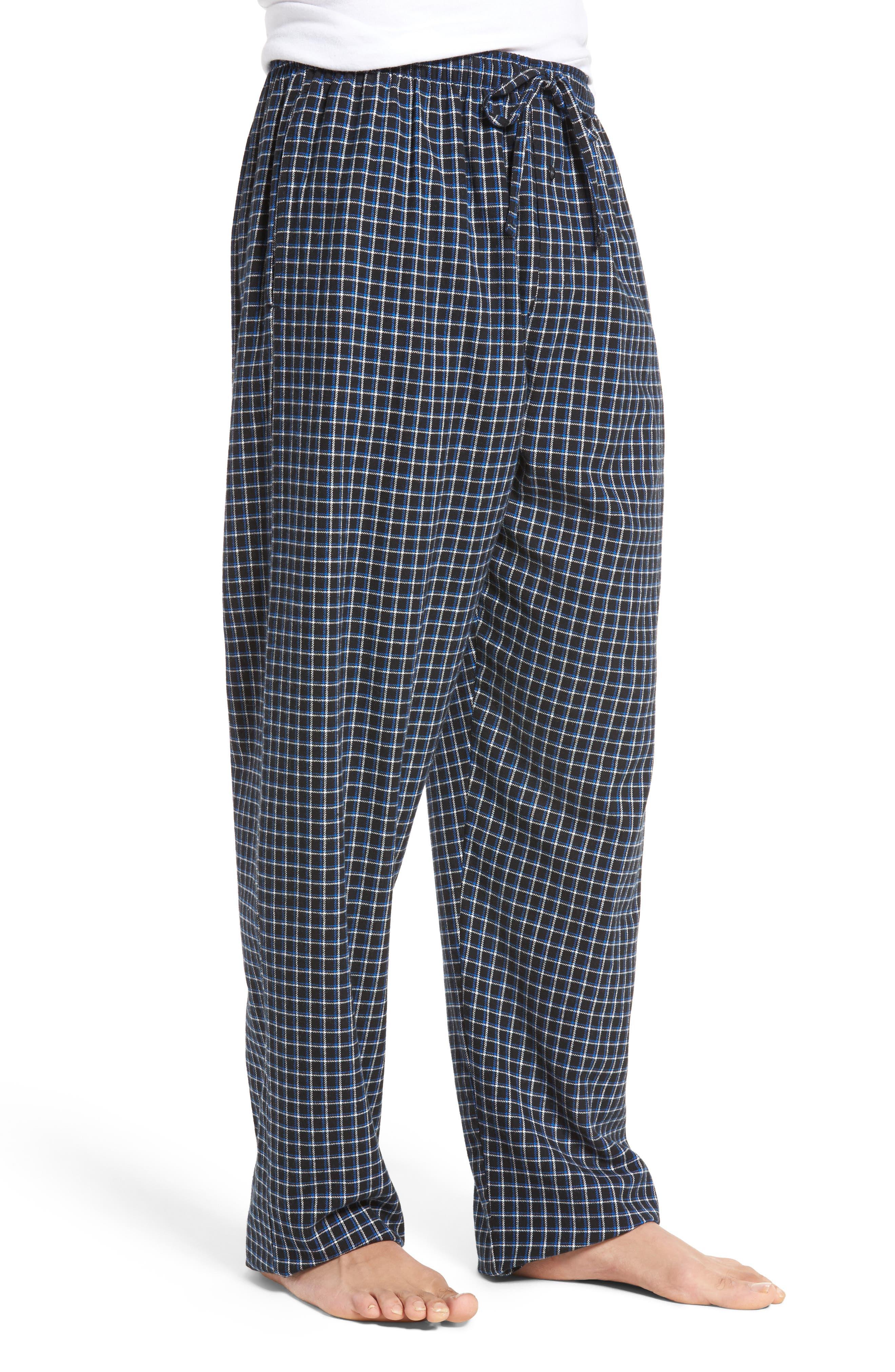 Flannel Pajama Pants,                             Alternate thumbnail 35, color,