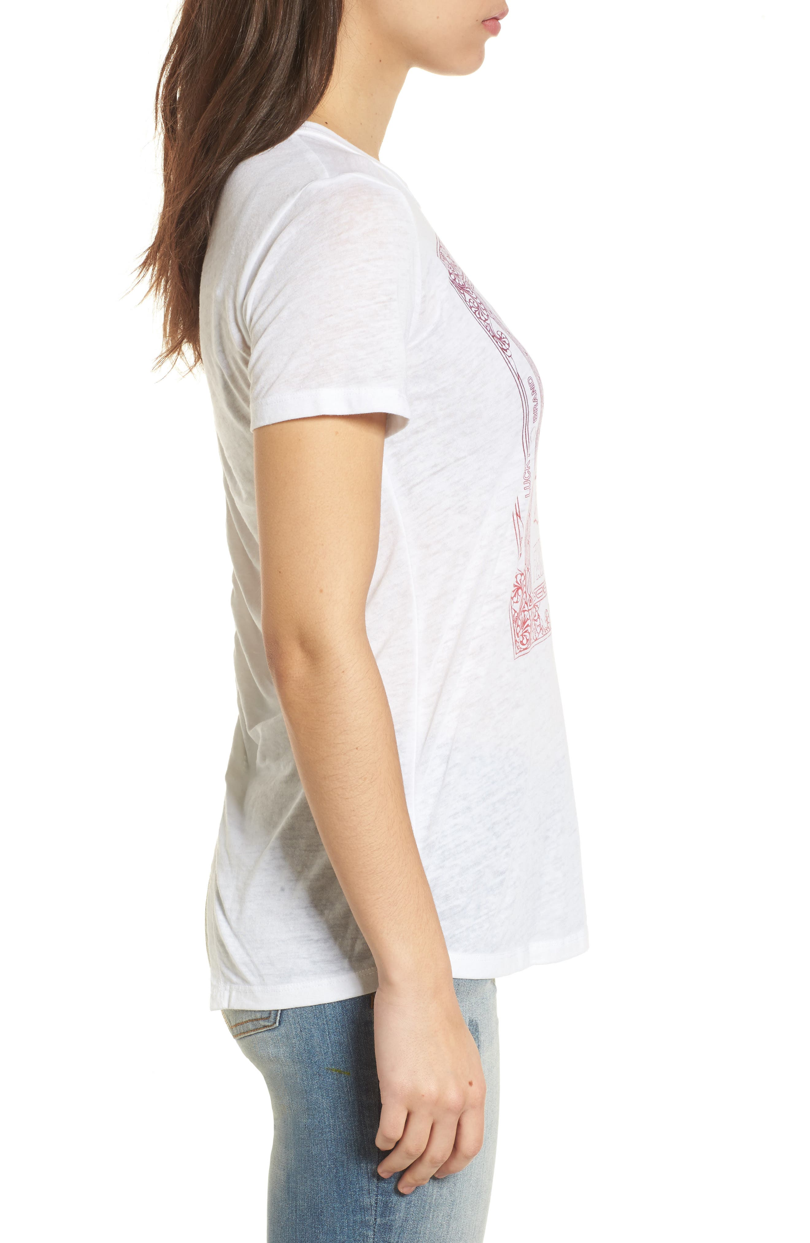 Heart Matchbox Ruched Back Top,                             Alternate thumbnail 3, color,